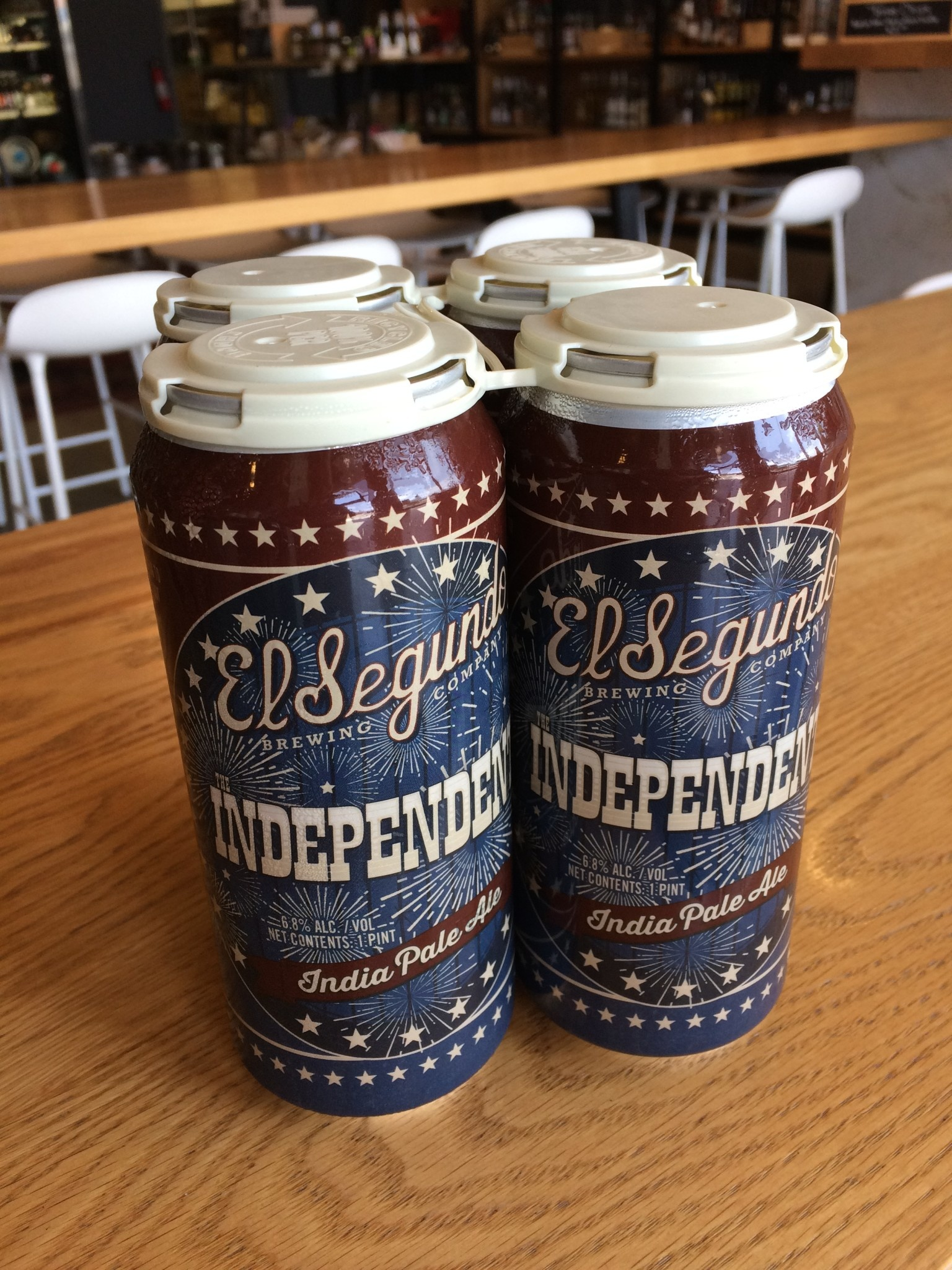 El Segundo Brewing Company El Segundo Brewing Co. The Independent IPA 16oz 4pk