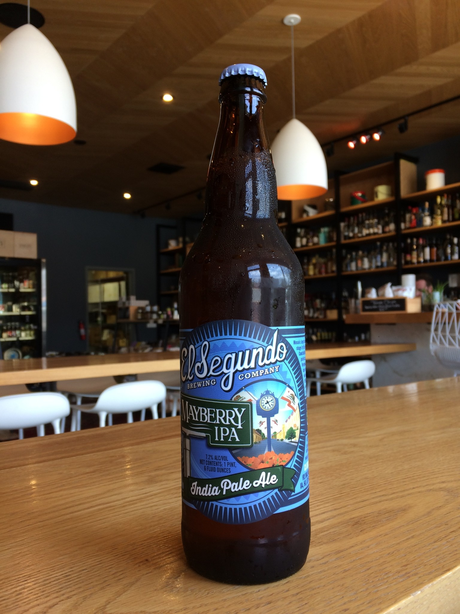 El Segundo Brewing Company El Segundo Brewing Co. Mayberry IPA 22oz