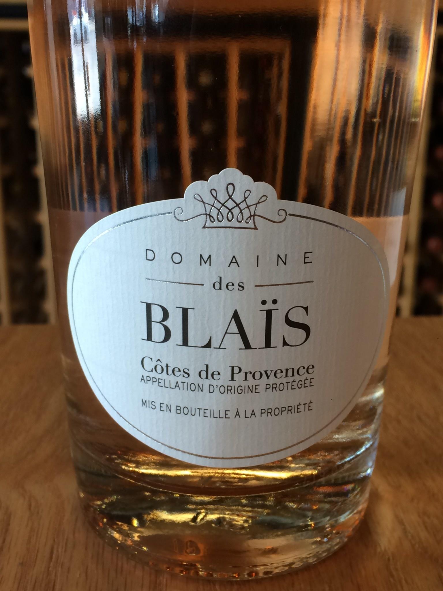 Domaine de Blaïs 2018 Domaine de Blaïs Côtes de Provence Rosé
