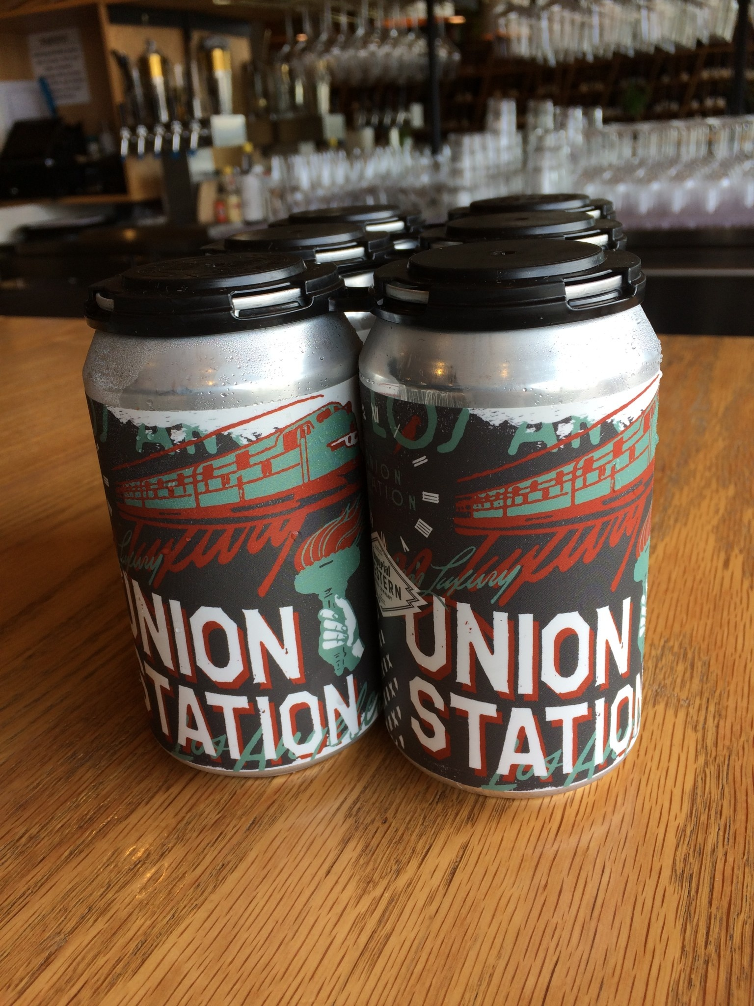 Imperial Western Brewing  Co. Imperial Western Brewing Union Station Lager 12oz 6pk