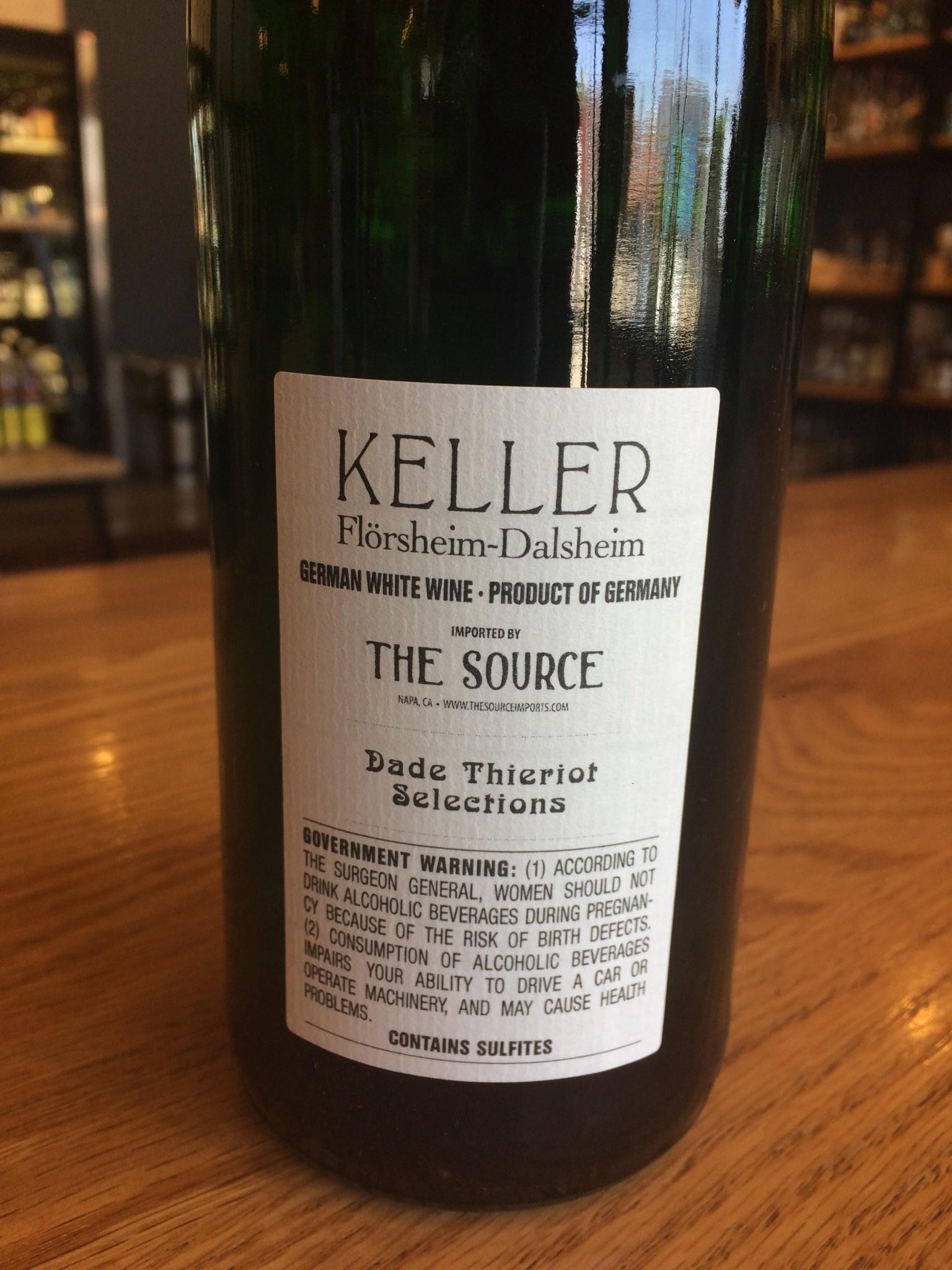 2018 Keller Riesling Trocken 750ml
