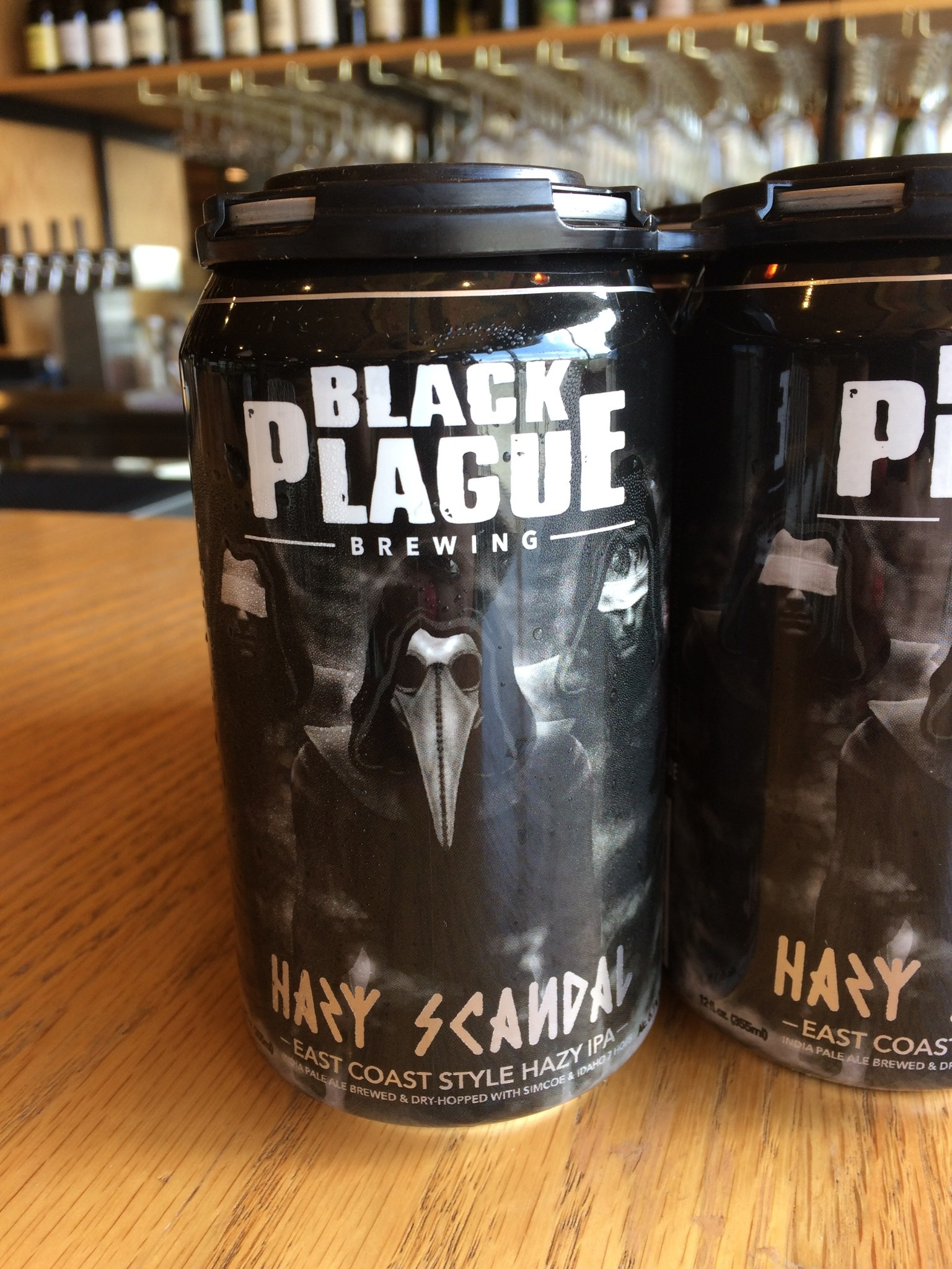 Black Plague Brewing Black Plague Brewing Hazy Scandal IPA 12oz 6pk