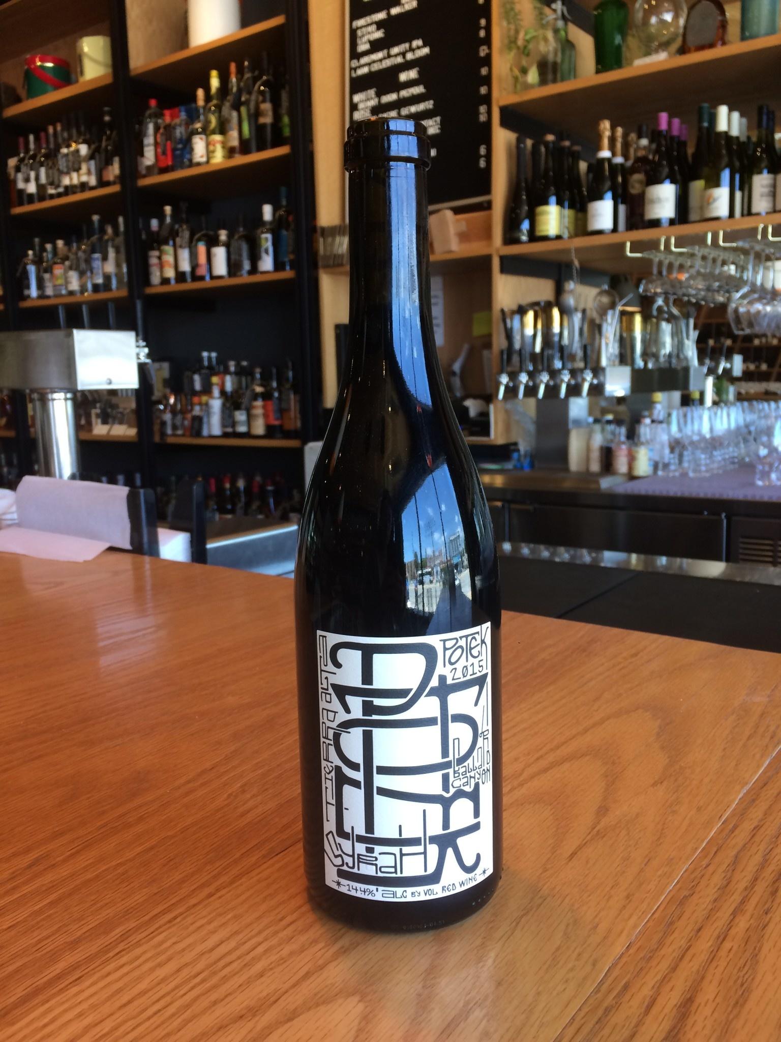 Potek Winery 2015 Potek Winery Syrah Tierra Alta Vineyard 750mL