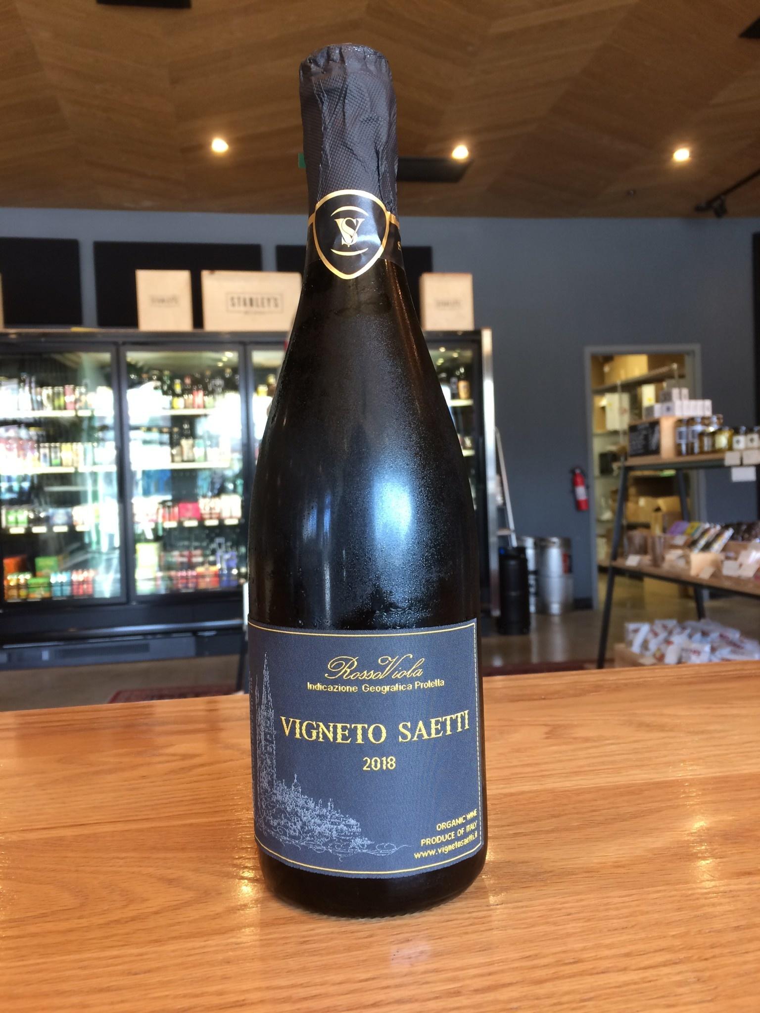 """Saetti 2018 Saetti Lambrusco """"Rosso Viola"""" 750ml"""