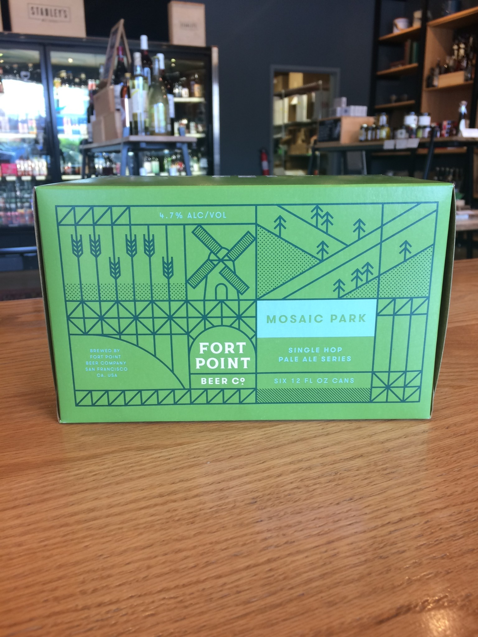 Fort Point Beer Company Fort Point Beer Co. Mosaic Park 12oz 6pk