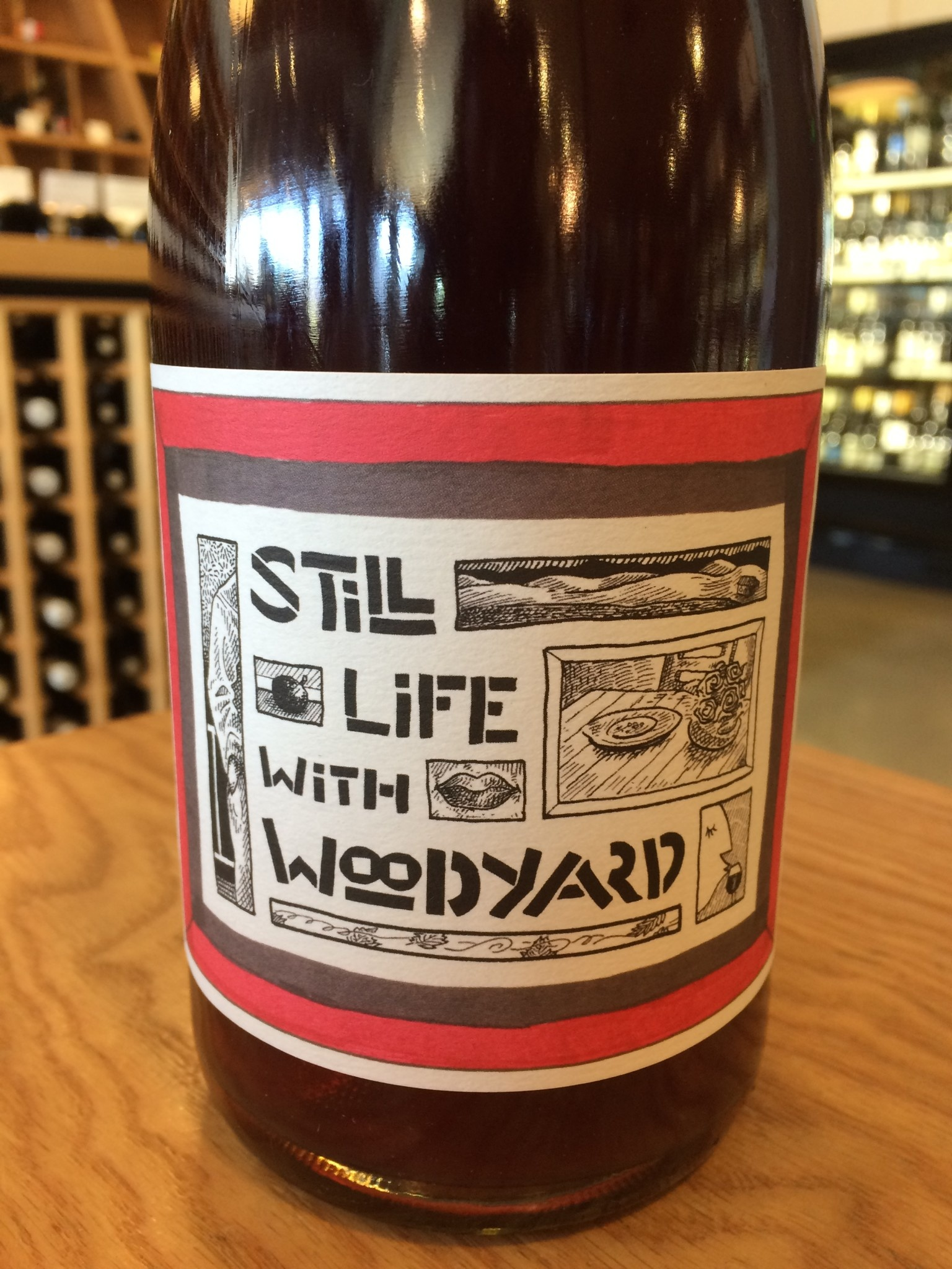 Stagiaire 2018 Stagiare Still Life with Woodyard Zinfandel 750ml
