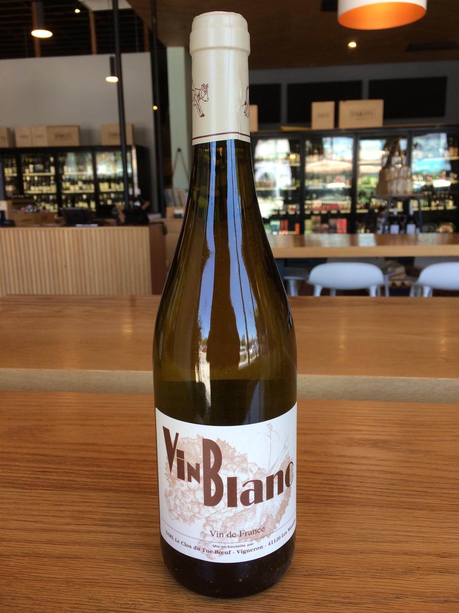 Le Clos du Tue-Bouef 2018 Le Clos du Tue-Boeuf Vin Blanc 750ml