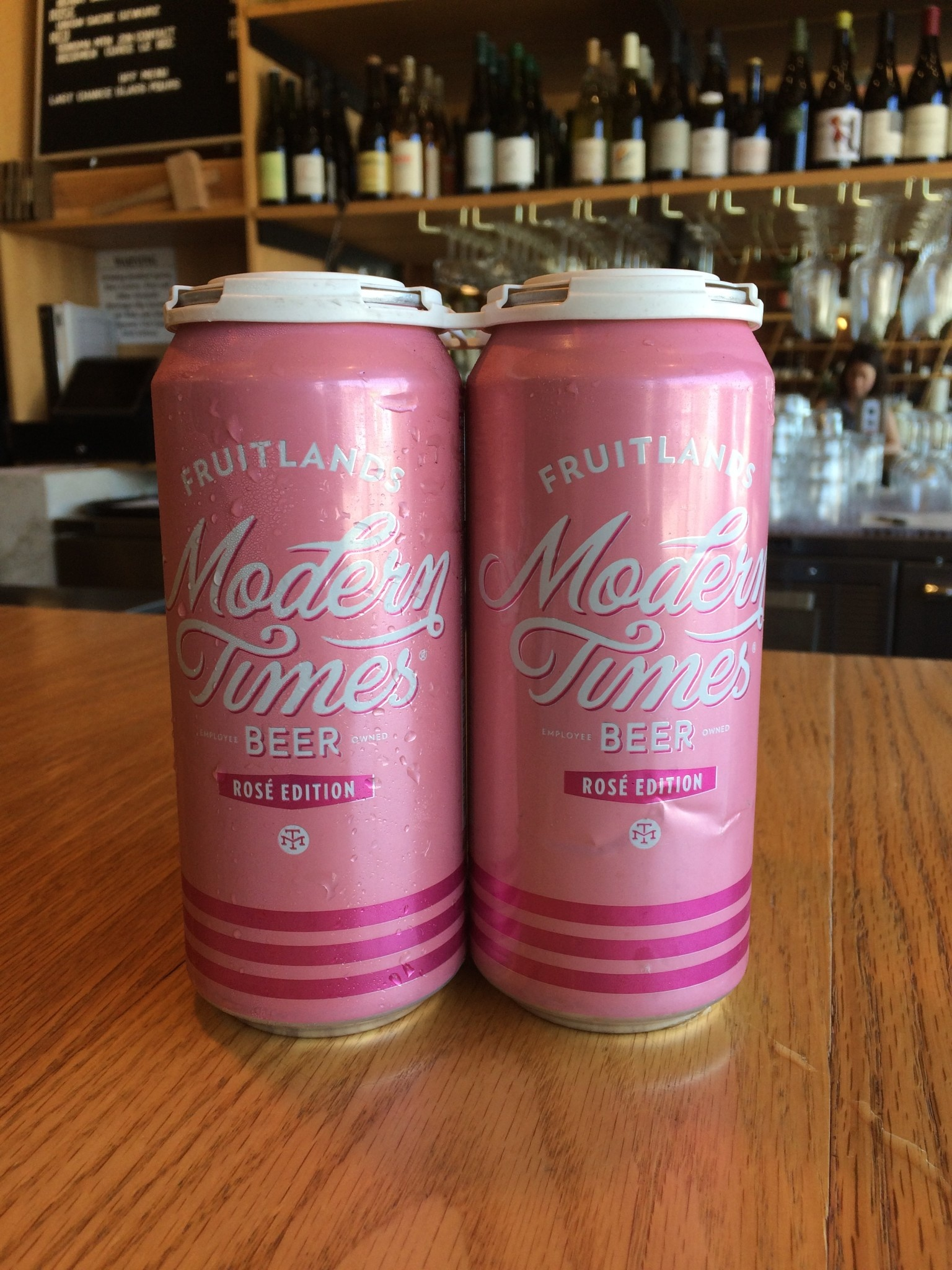 Modern Times Brewing Modern Times Fruitlands Rose 16oz 4 Pack