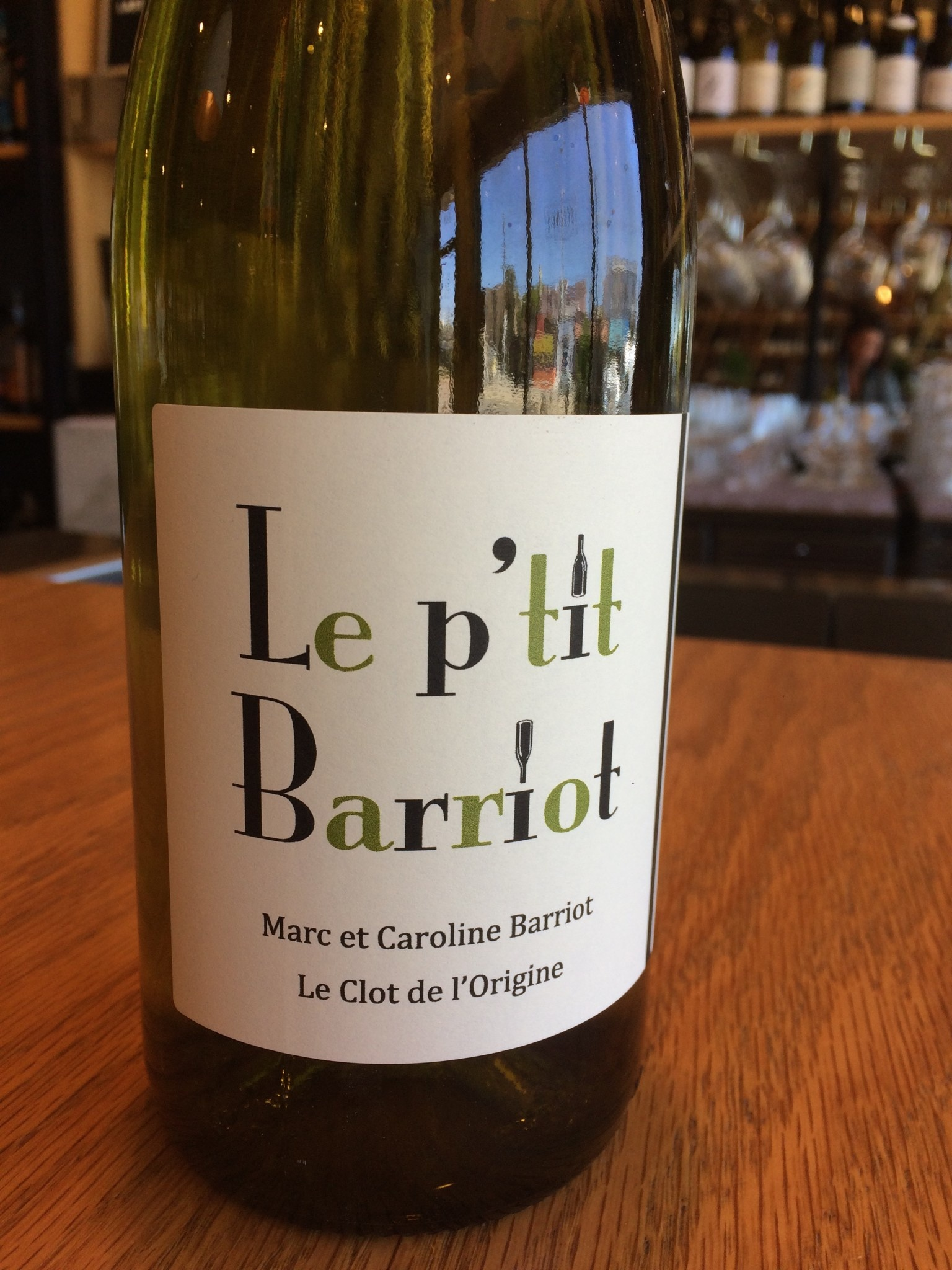 Marc Barriot 2018 Marc Barriot 'Le p'tit Barriot' Blanc de Noirs 750ml