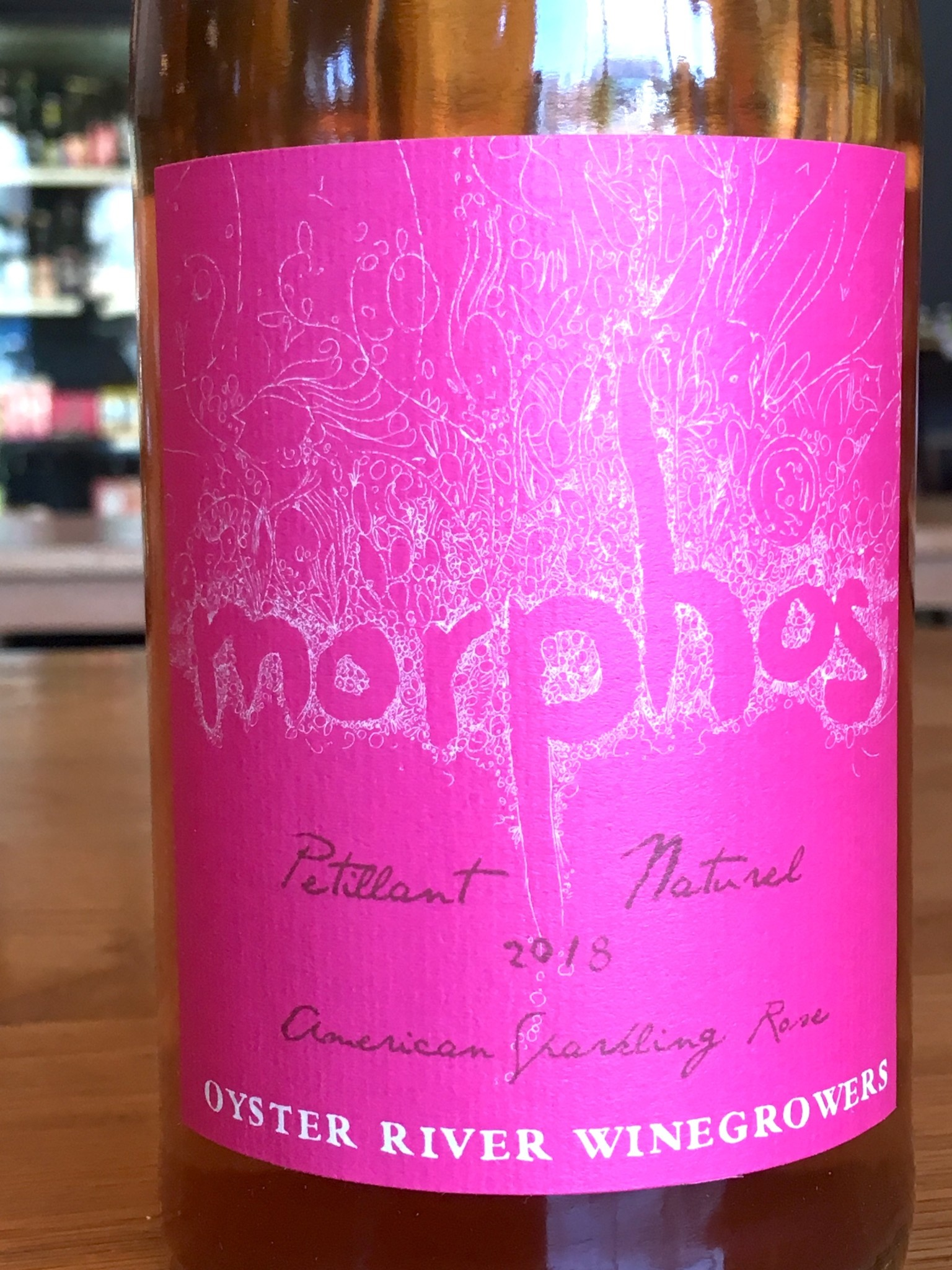 Oyster River Winegrowers 2018 Oyster River Winegrowers Morphos Pet-Nat Rose 750ml