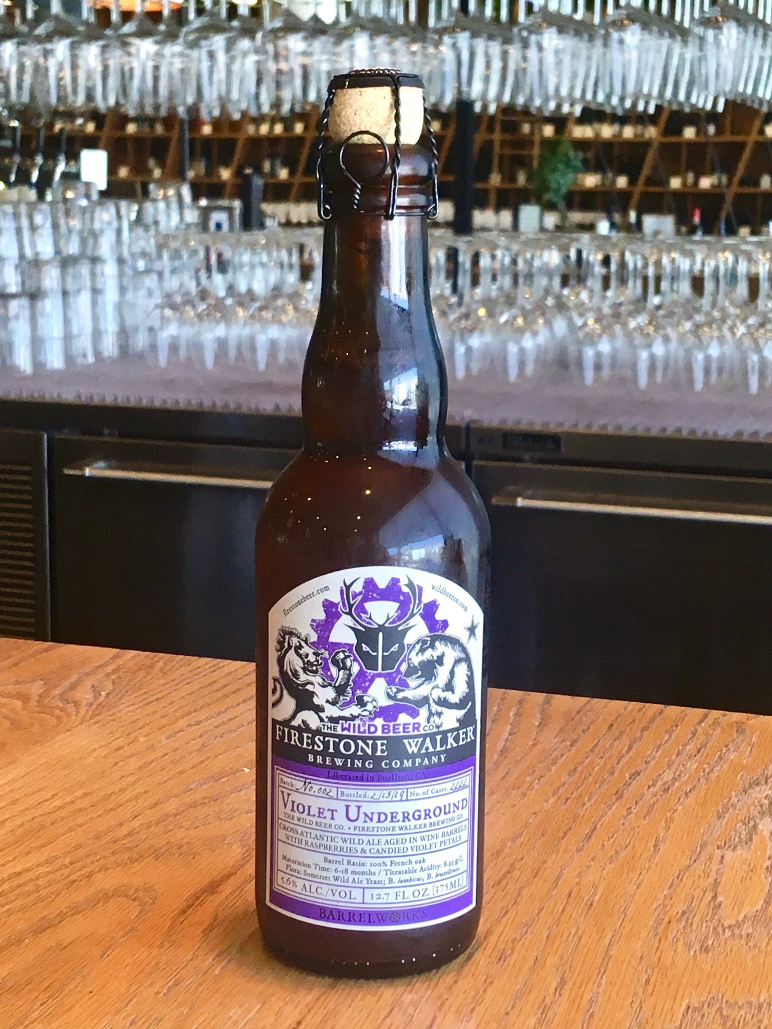Firestone Walker Brewing Firestone Walker Brewing Violet Underground 375ml