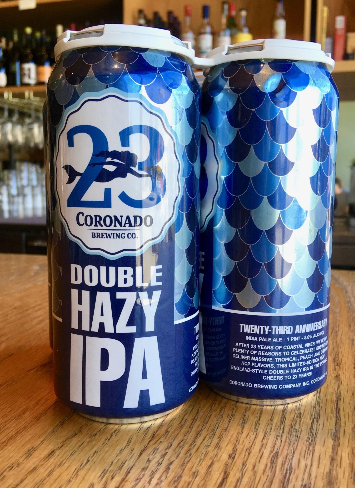 Coronado Brewing Coronado Brewing Co. 23rd Anniversary Hazy DIPA 16oz 4pk