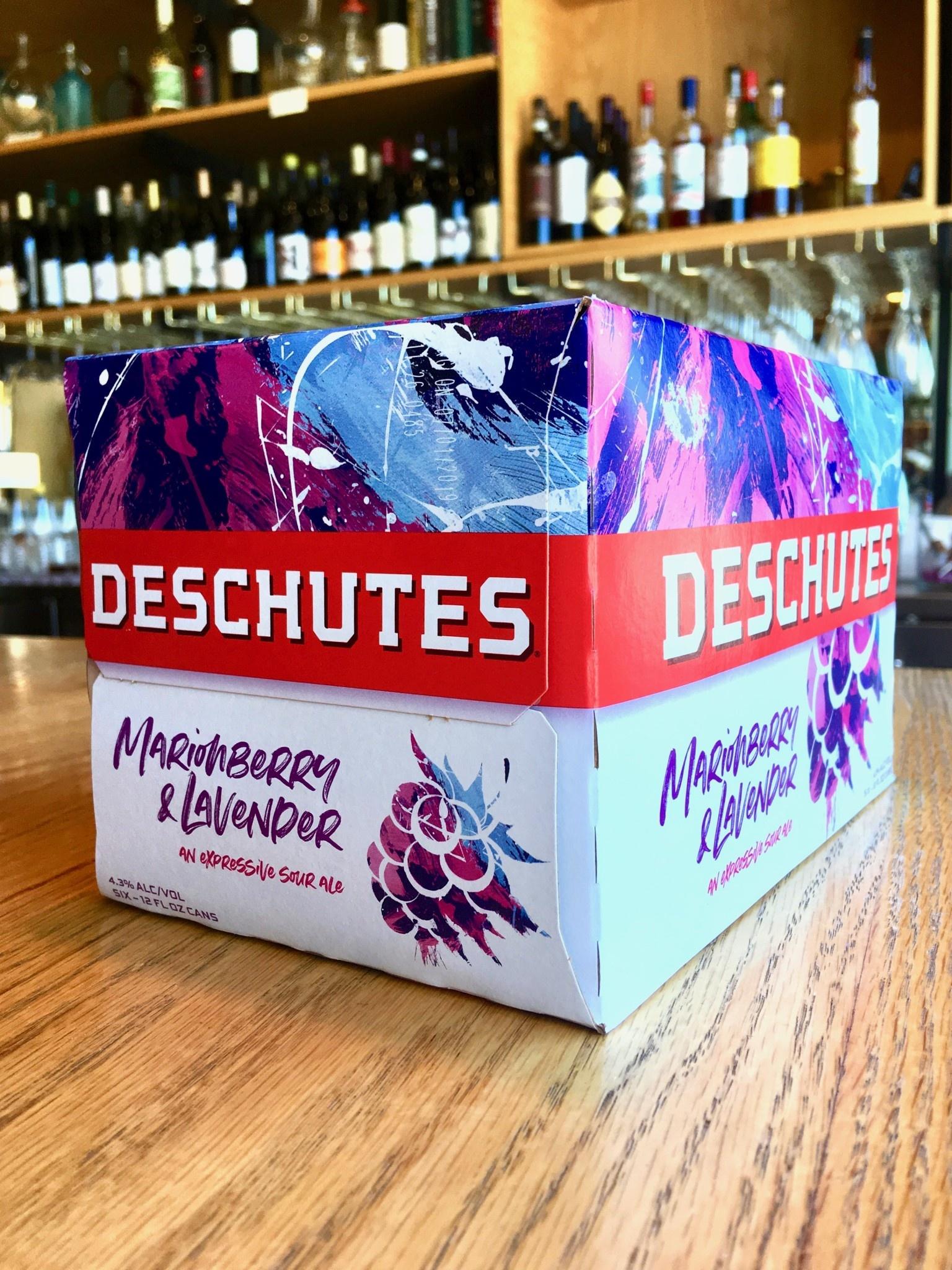 Deschutes Brewing Co. Deschutes Marionberry & Lavender Sour 12oz 6pk