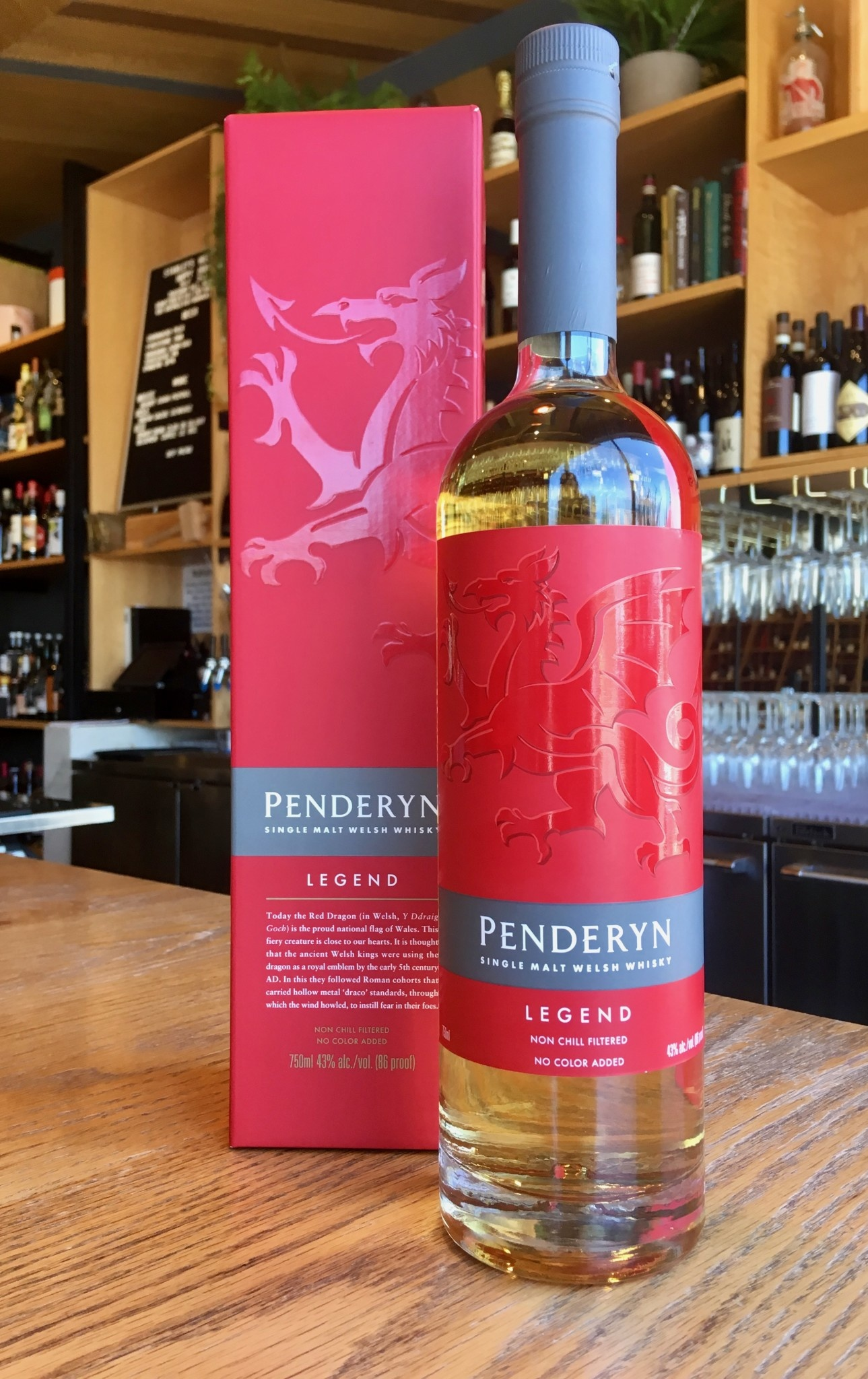 Penderyn Distillery Penderyn Legend Single Malt Welsh Whiskey 750ml