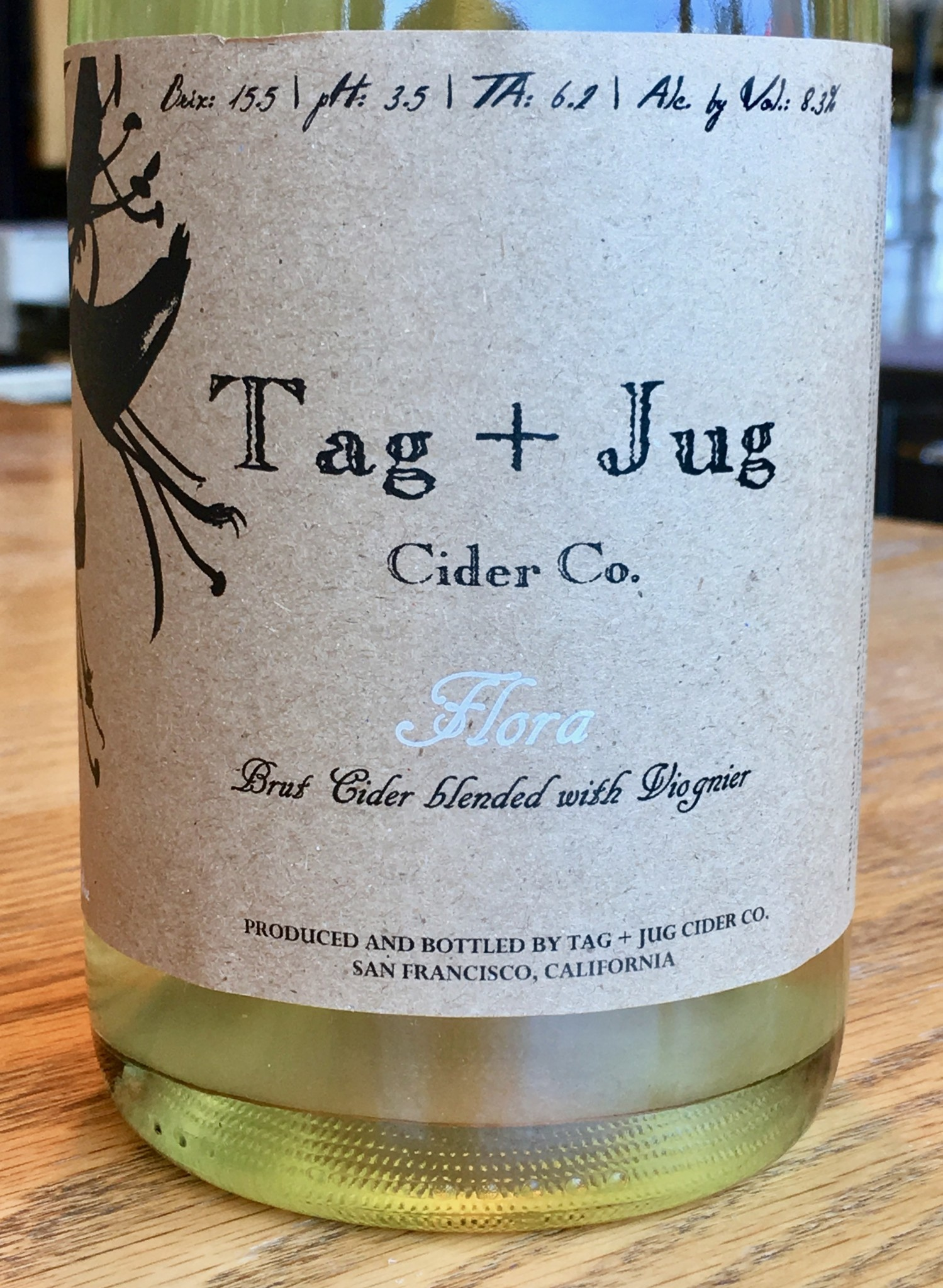 Conduit Tag + Jug Cider Flora 750ml