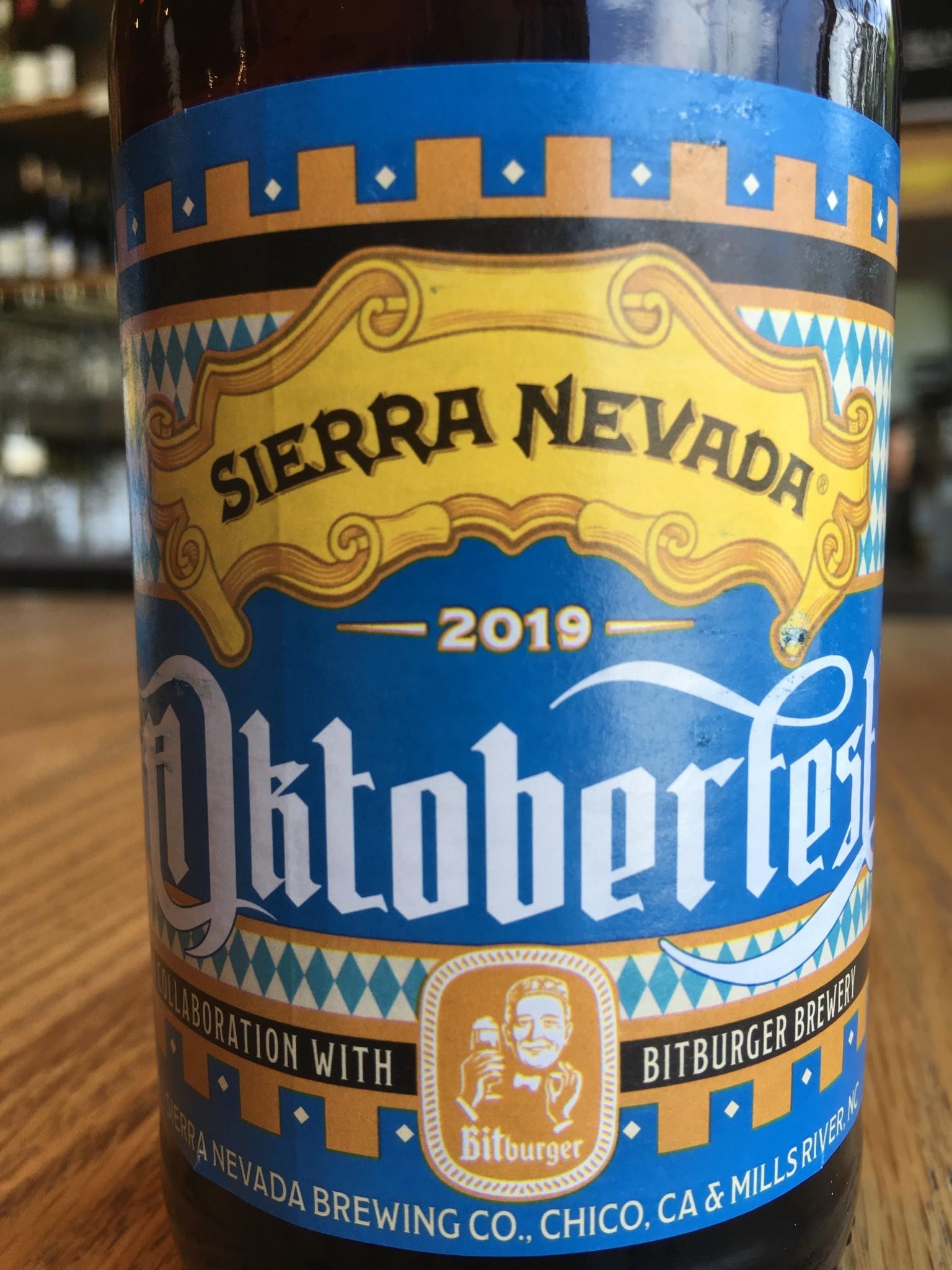 Sierra Nevada Brewing Sierra Nevada/Bitburger Oktoberfest 12oz 6pk