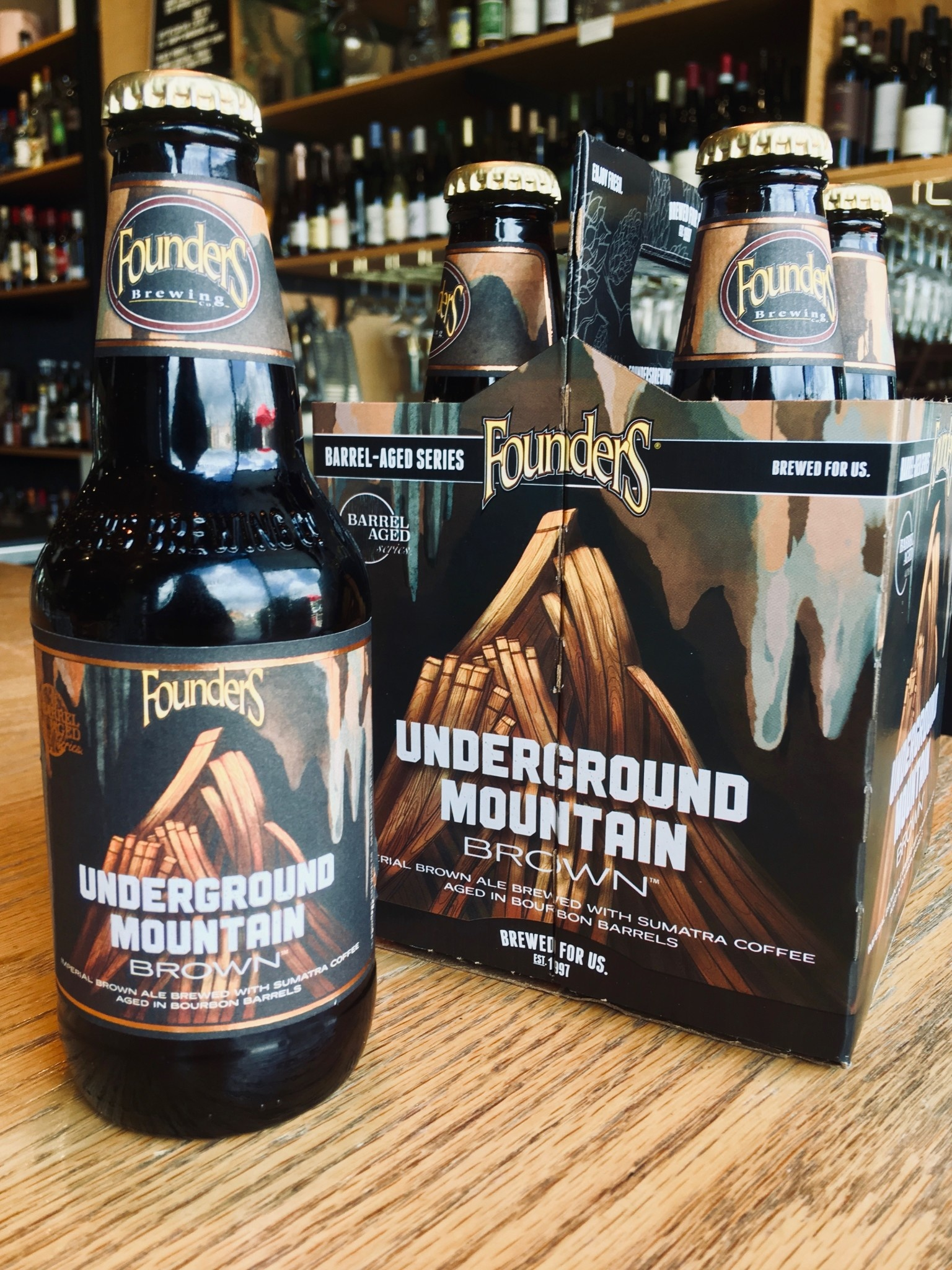 Founders Brewing Founder's Underground Mountain Brown 12oz 4pk