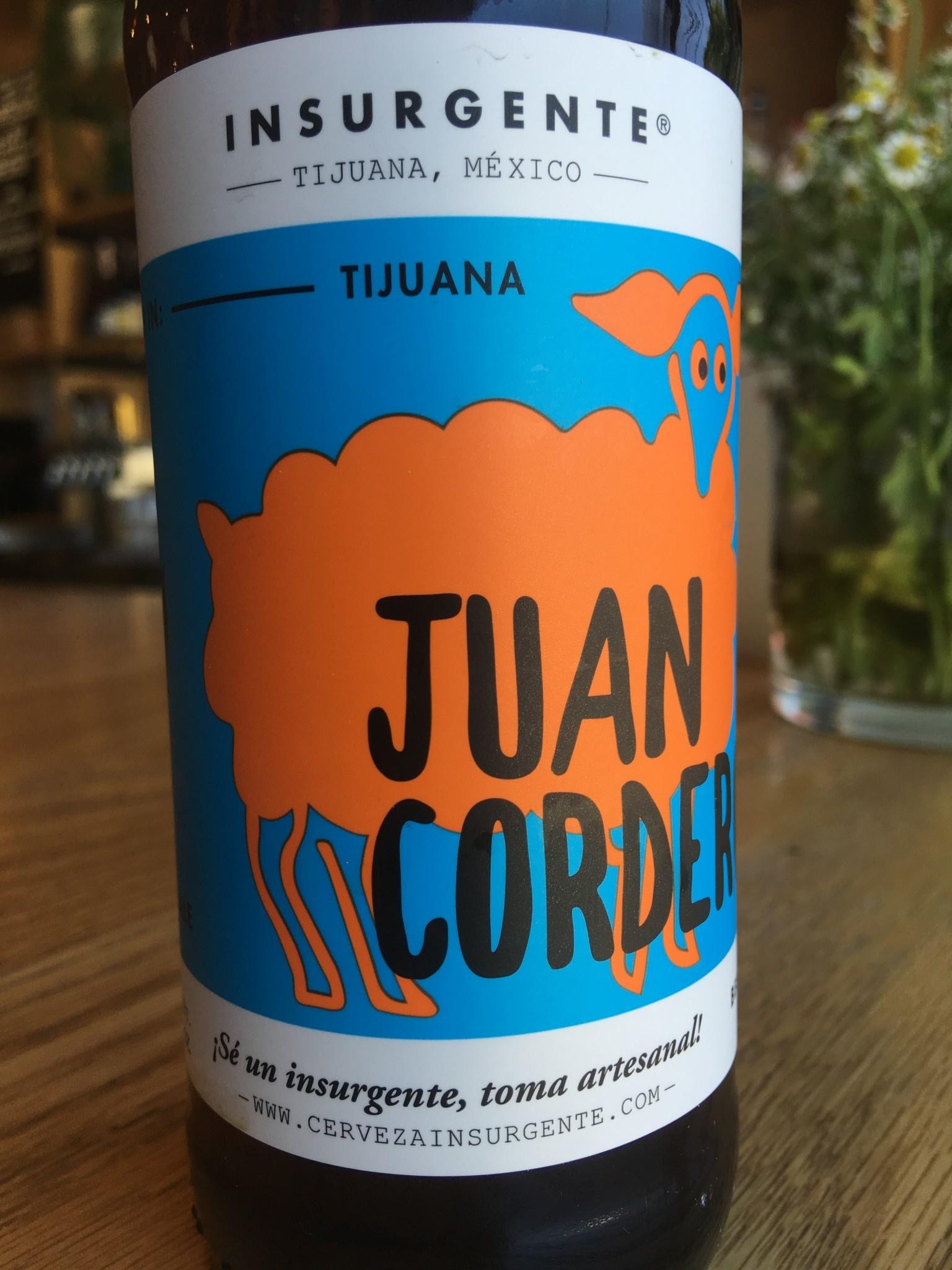 Insurgente Insurgente Juan Cordero 12oz 6pk