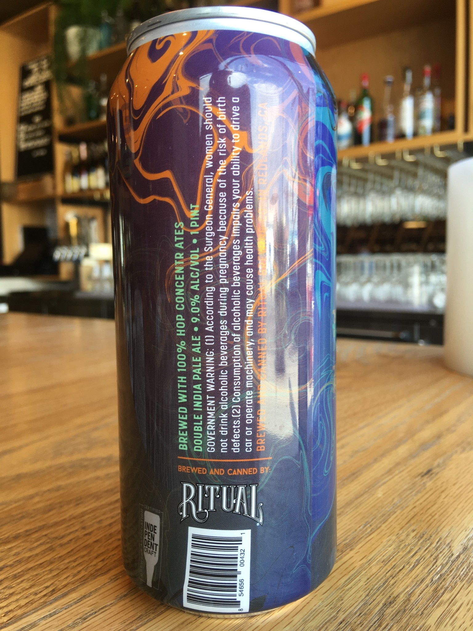 Ritual Brewing Ritual Oil Rig DIPA 16oz