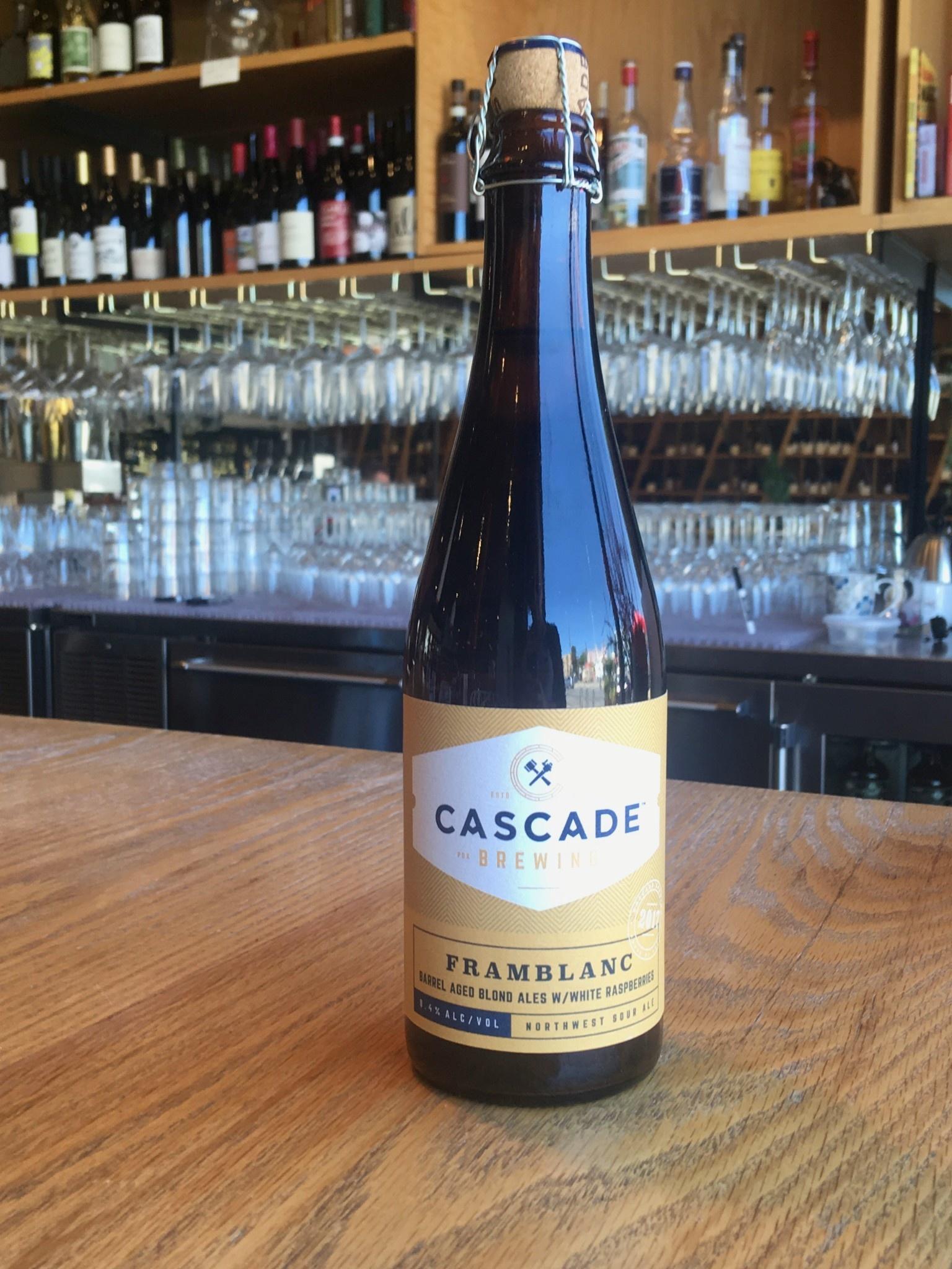 Cascade Brewing Cascade Brewing Framblanc 500ml