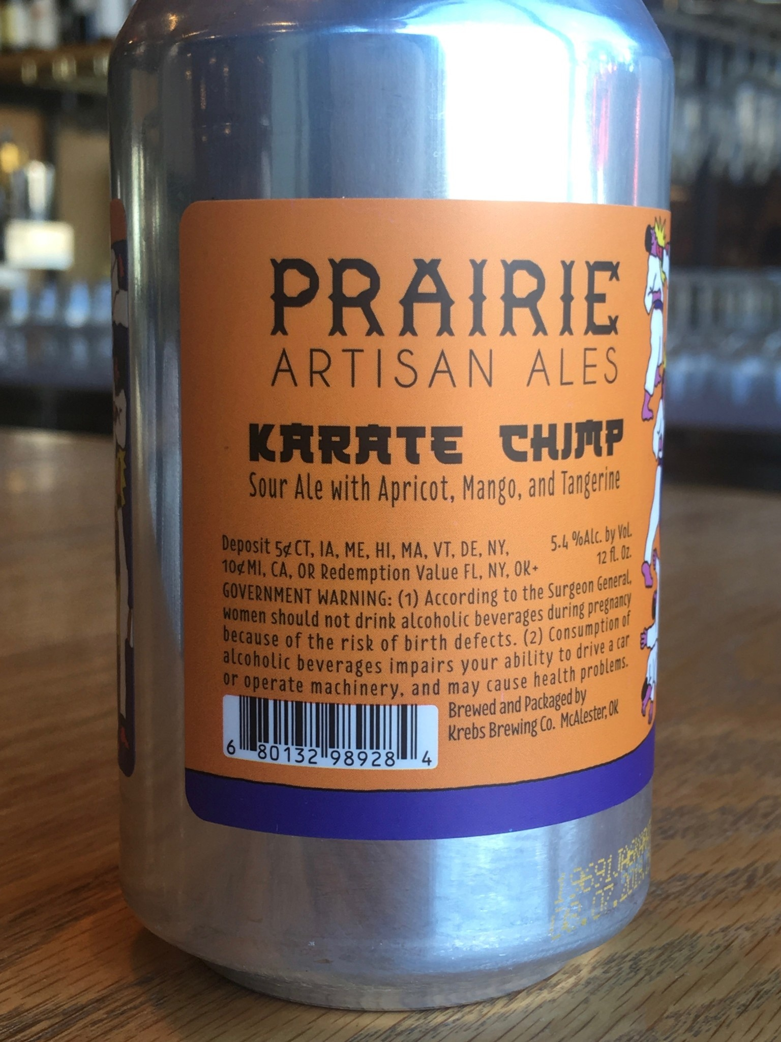 Prairie Brewing Prairie Brewing Karate Chimp 12oz