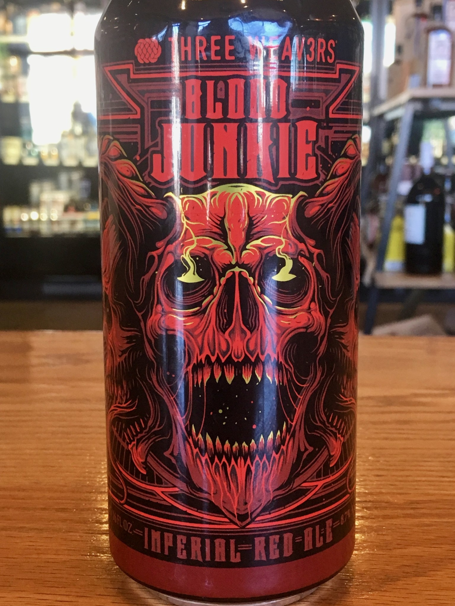 Three Weavers Blood Junkie Imperial Red Ale 16oz
