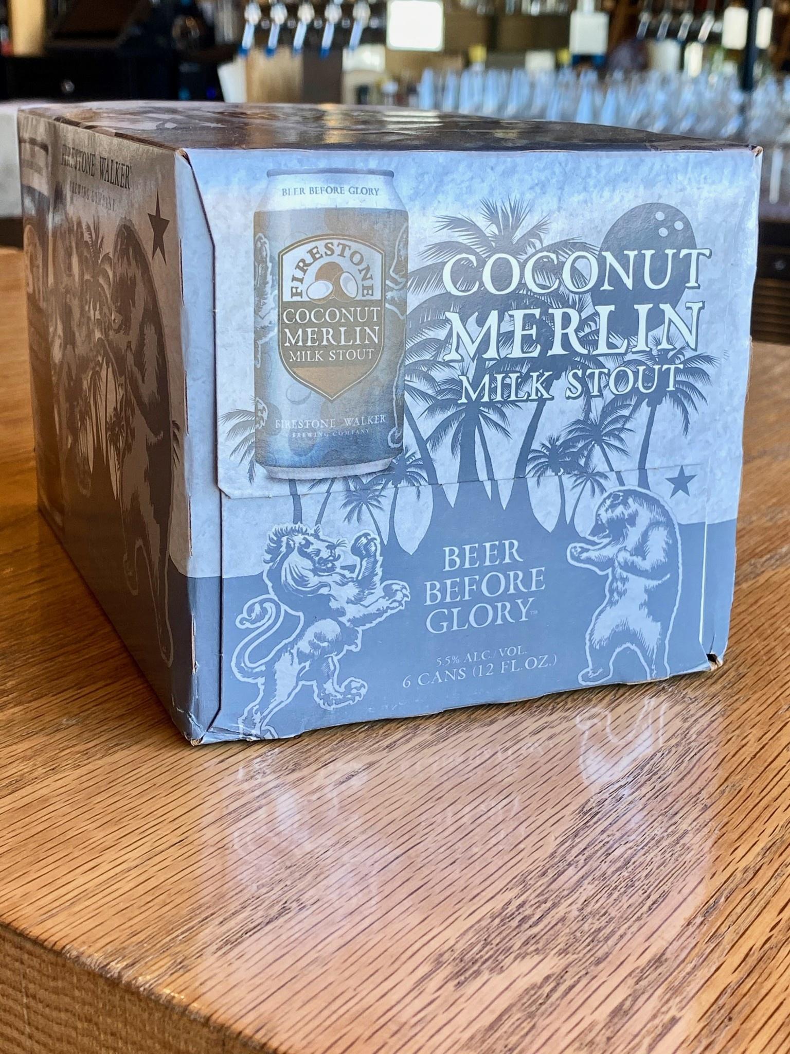 Firestone Walker Coconut Merlin Milk Stout 12oz 6pk