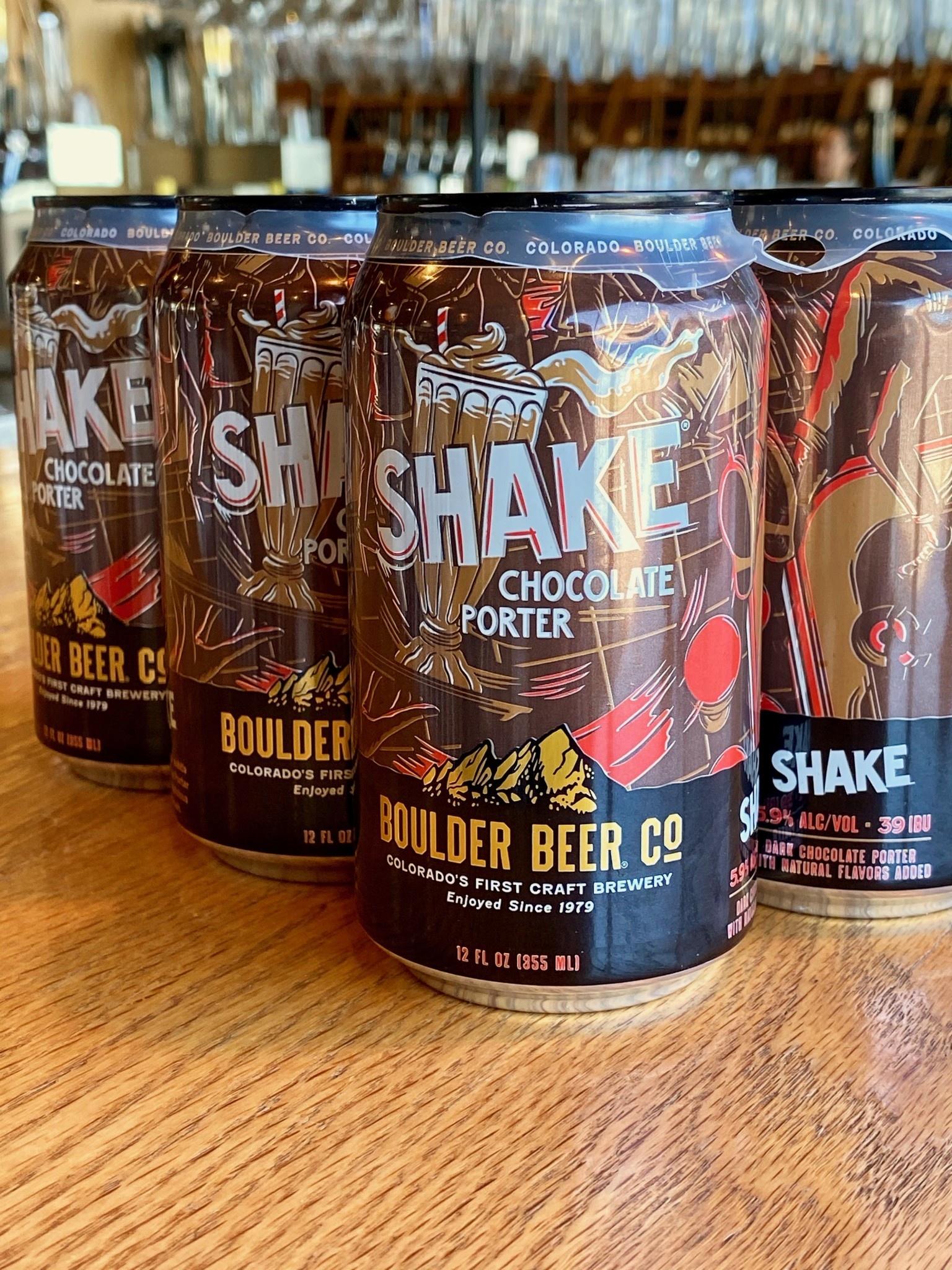 Boulder Beer Co. Boulder Beer Co. Brewing Shake Chocolate Porter 12oz 6pk