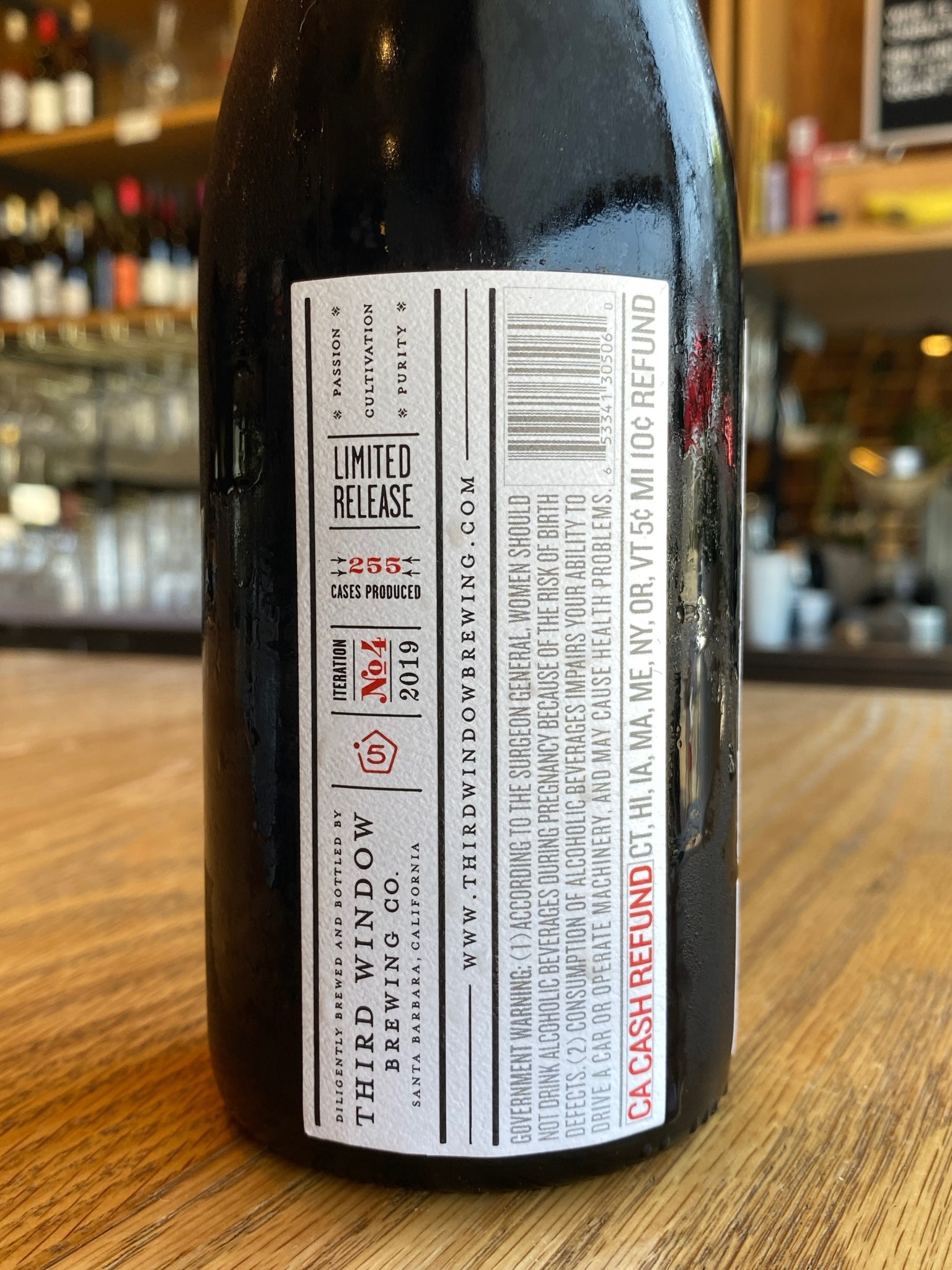 Third Window Brewing Co. Third Window Brewing Walkabout Stout 500ml