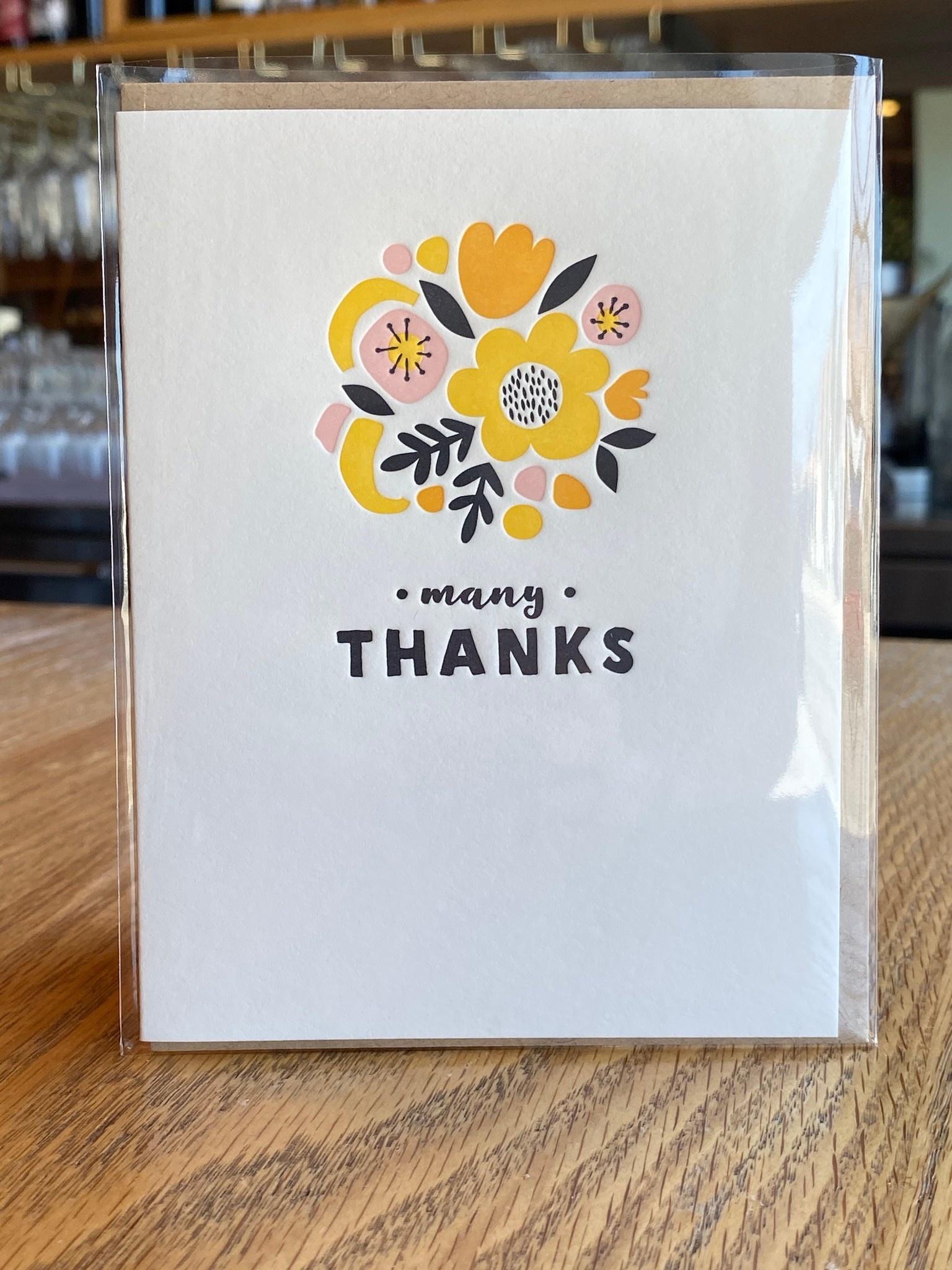 Elum Collage Bouquet Elum Greeting Card