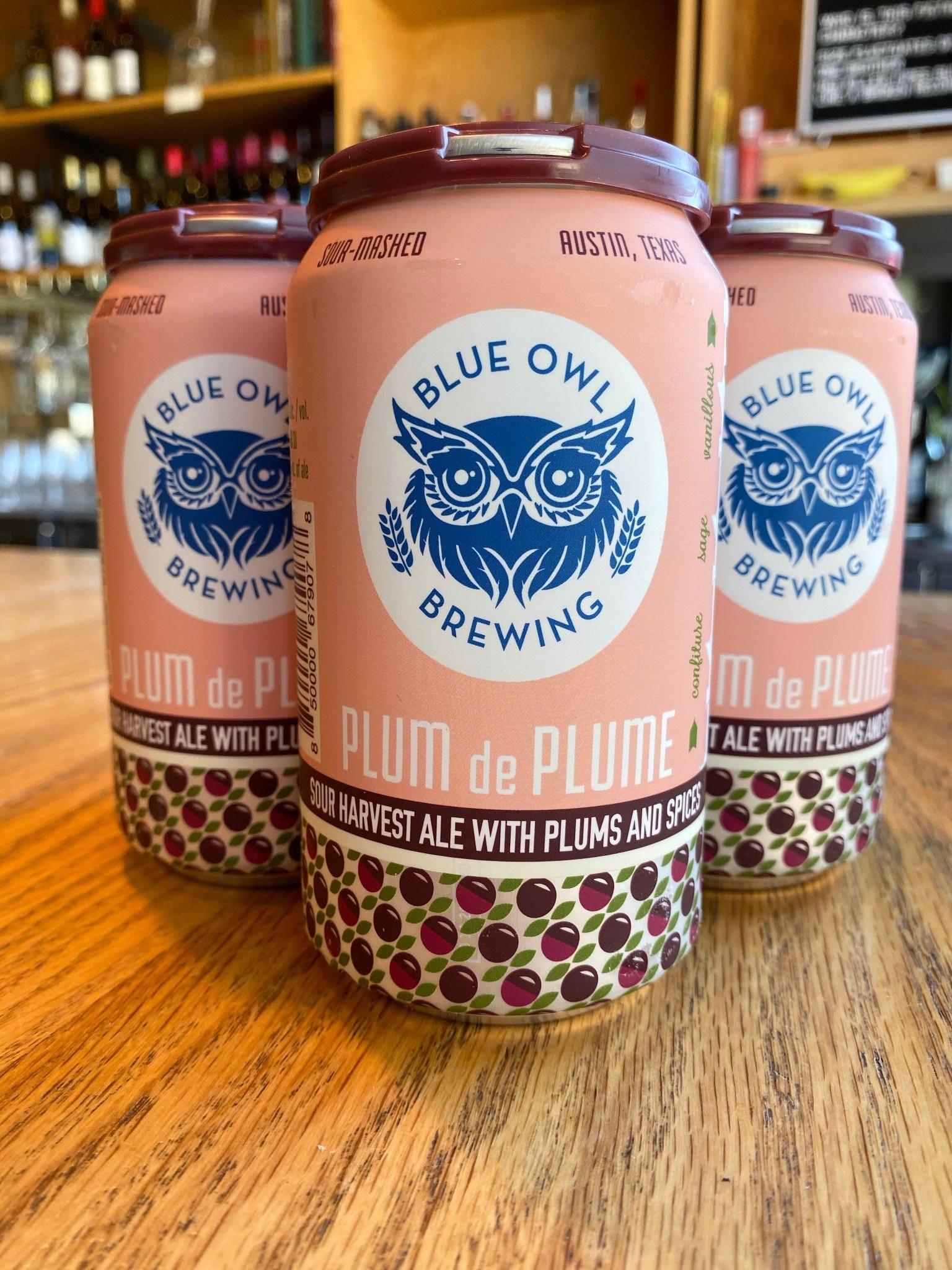Blue Owl Brewing Blue Owl Brewing Plum de Plume 12oz 4pk