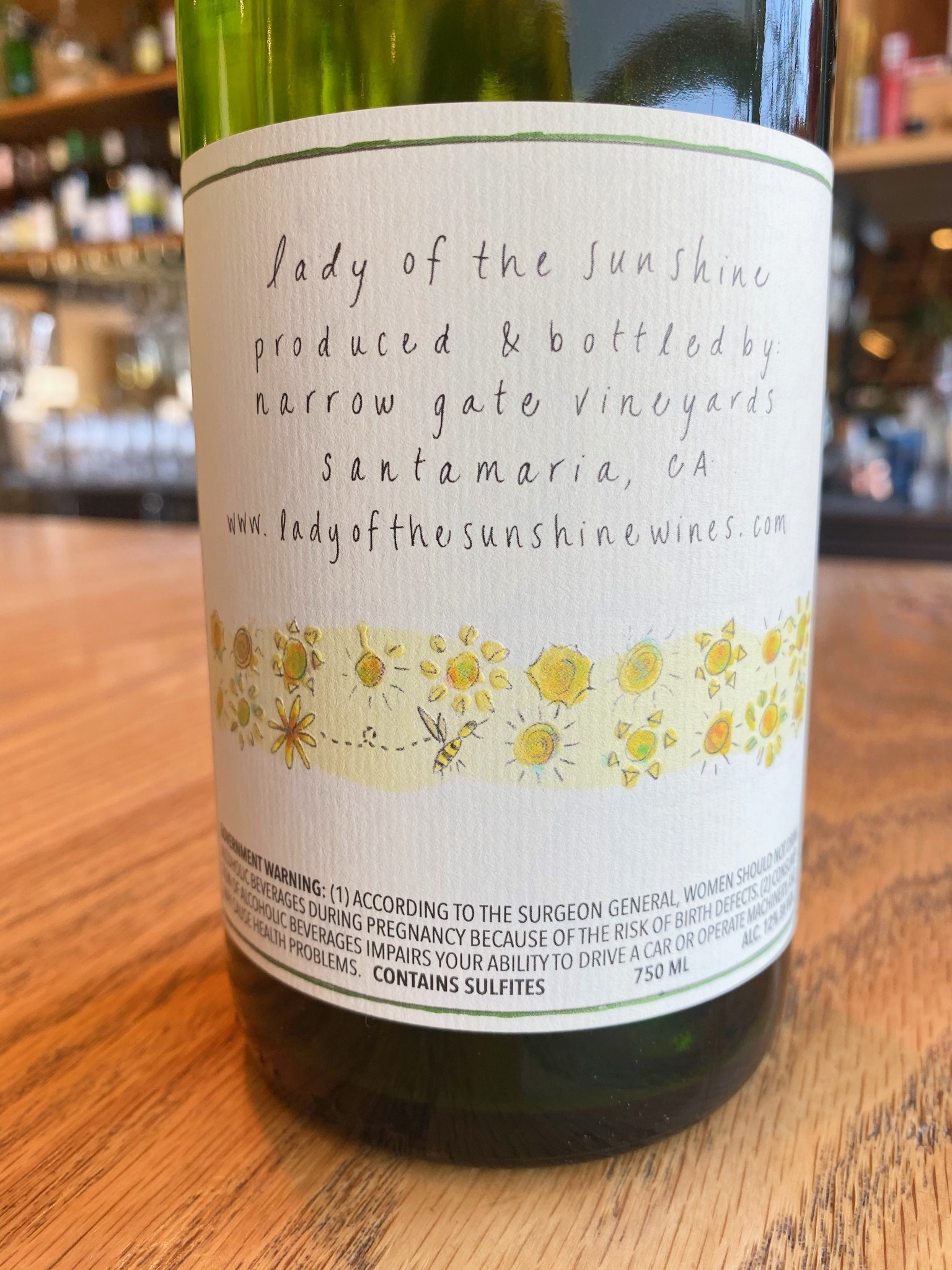 Lady of Sunshine 2018 Lady of Sunshine Coquelicot Vineyard Santa Ynez Valley 750ml
