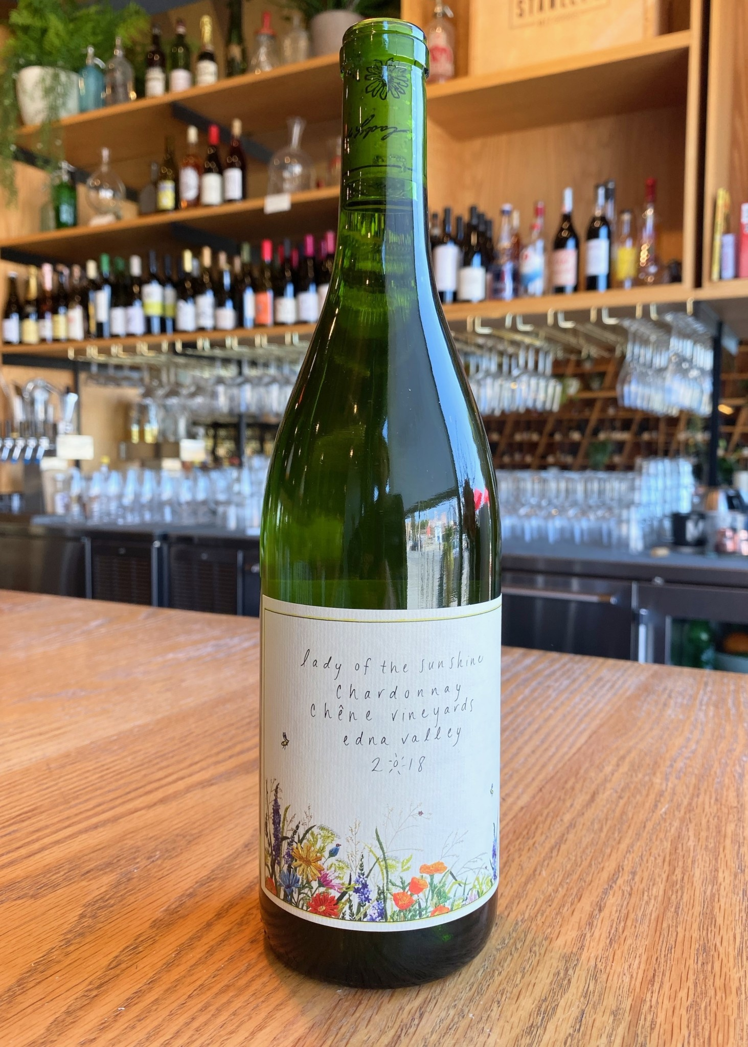 Lady of Sunshine 2018 Lady of the Sunshine Chardonnay Chene Vineyard Edna Valley 750ml