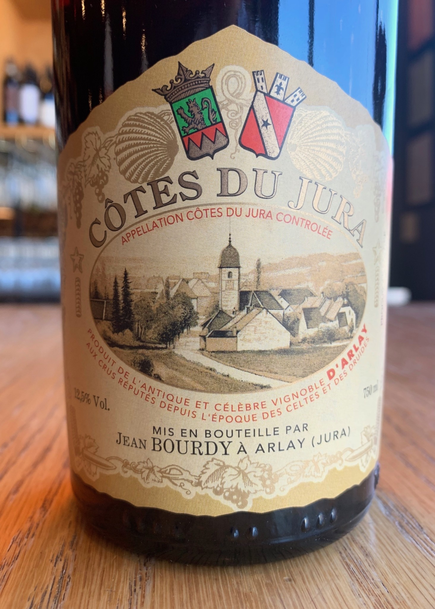 Bourdy 2014 Caves Jean Bourdy Côtes du Jura Rouge 750ml