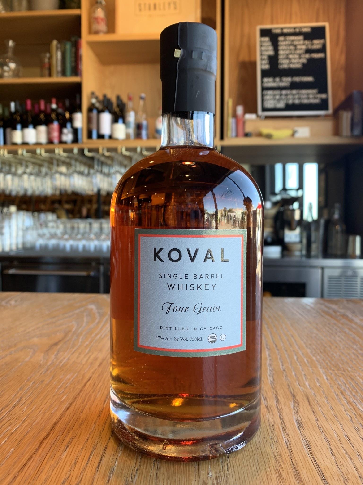 Koval Koval Four Grain Whiskey 750ml