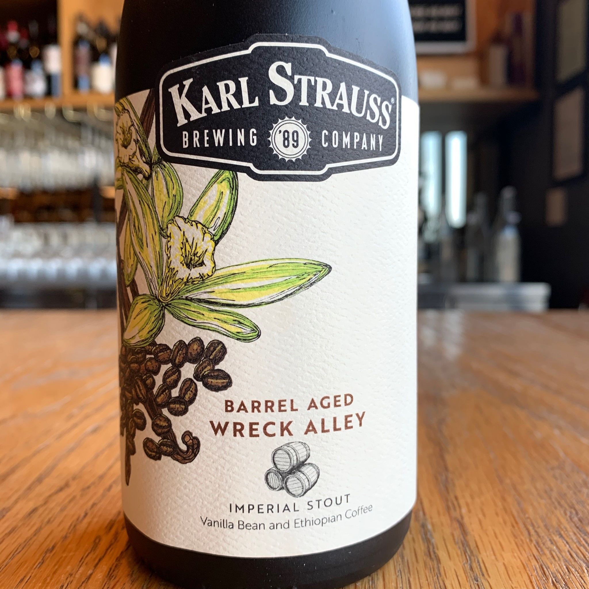Karl Strauss Karl Strauss Brewing Co. Barrel Aged Wreck Alley Stout 500ml