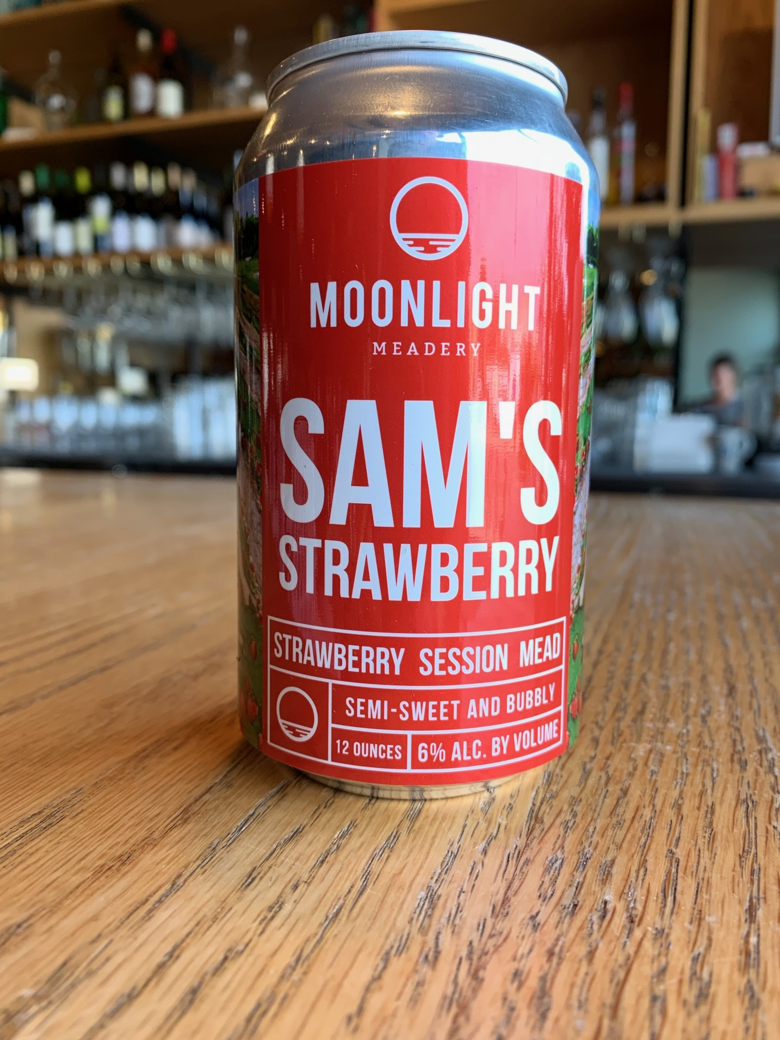 Moonlight Meadery Moonlight Meadery Sam's Strawberry Session Mead 12oz