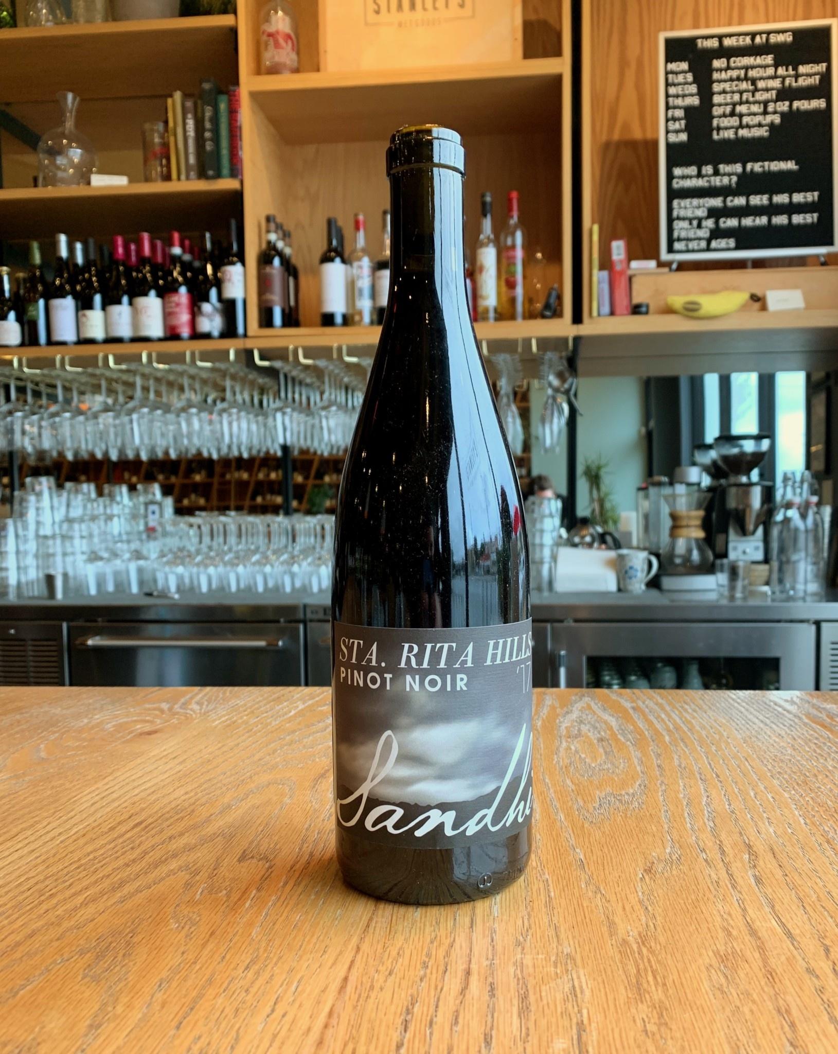 Sandhi Wines 2017 Sandhi Santa Rita Hills Pinot Noir 750ml