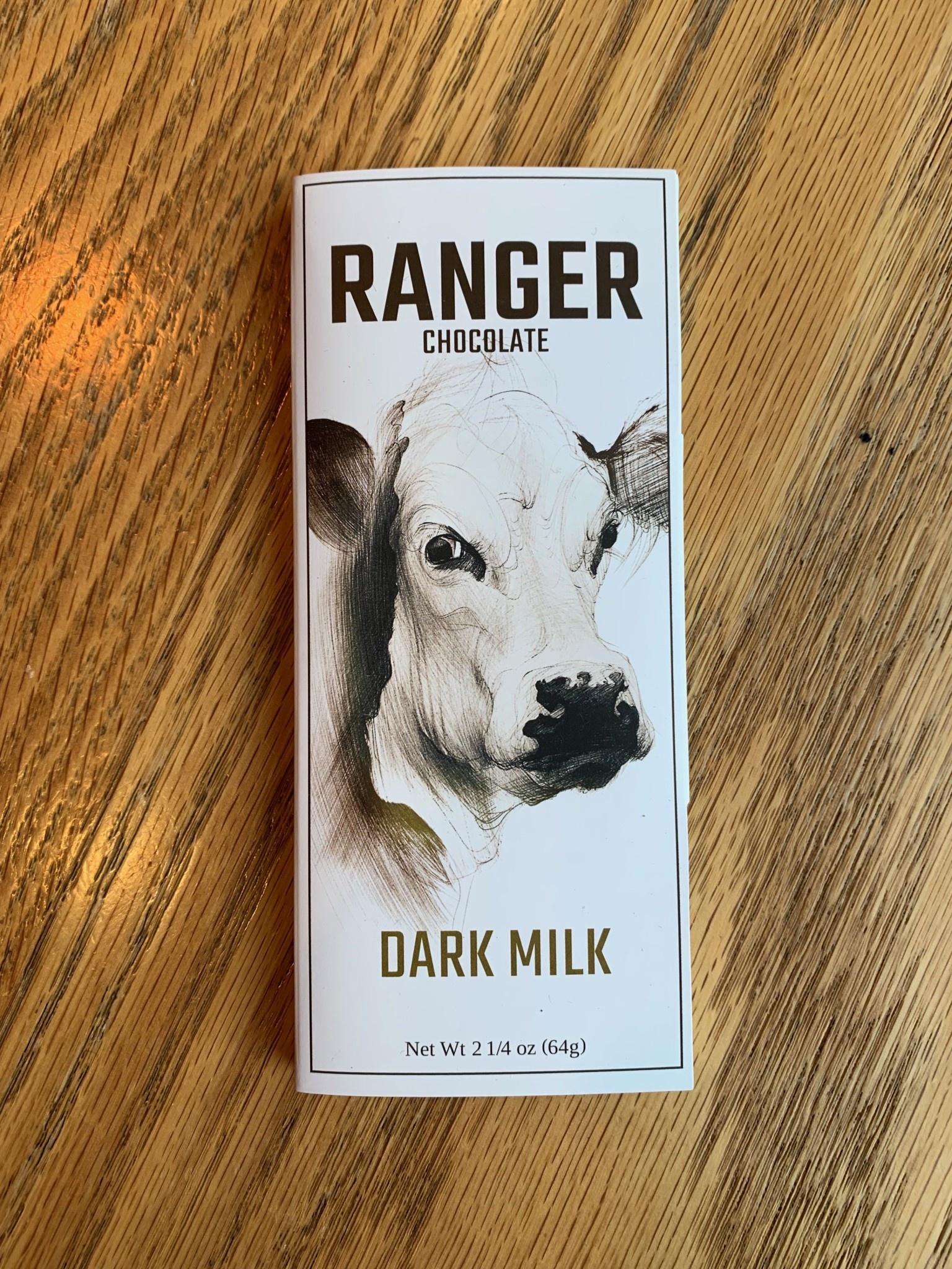 Ranger Chocolate Ranger Chocolate Dark Milk 2.25oz
