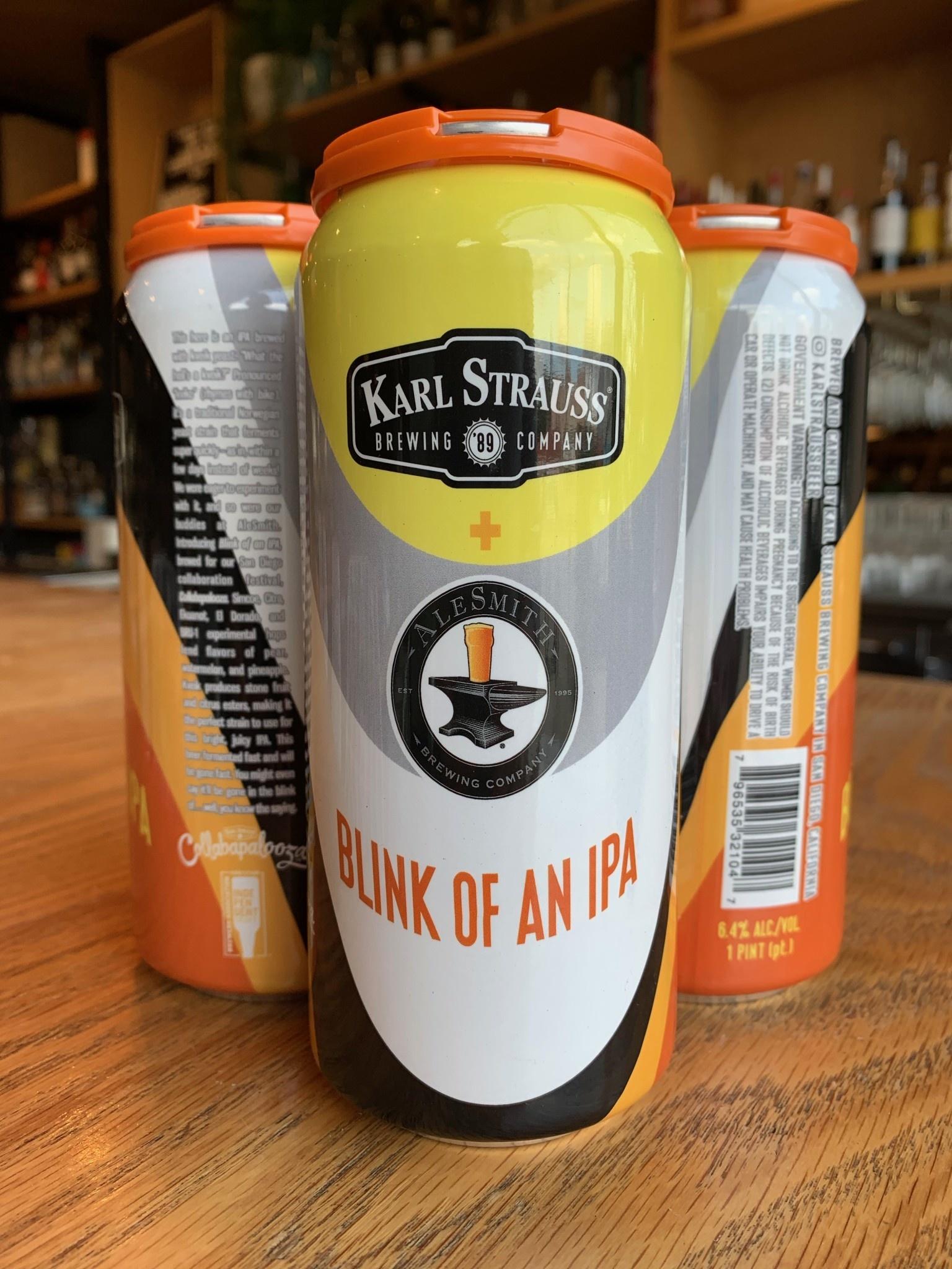 Karl Strauss Karl Strauss Brewing Blink of an IPA 16oz 4pk