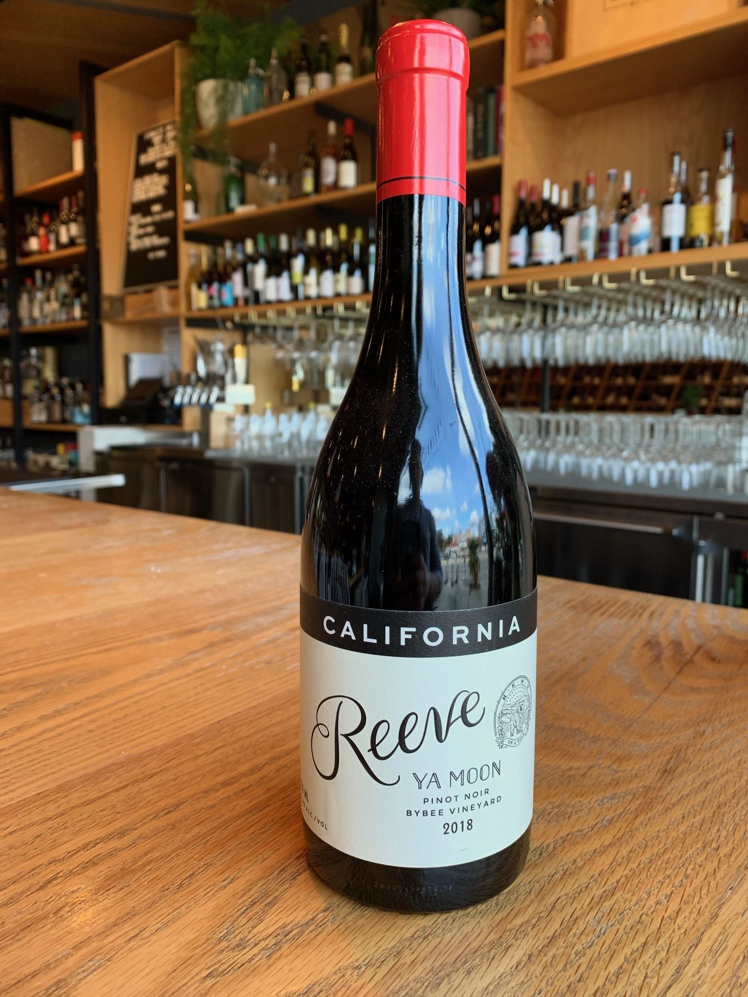 2018 Reeve Ya Moon' Pinot Noir, Bybee Vineyard, Sonoma Coast 750ml