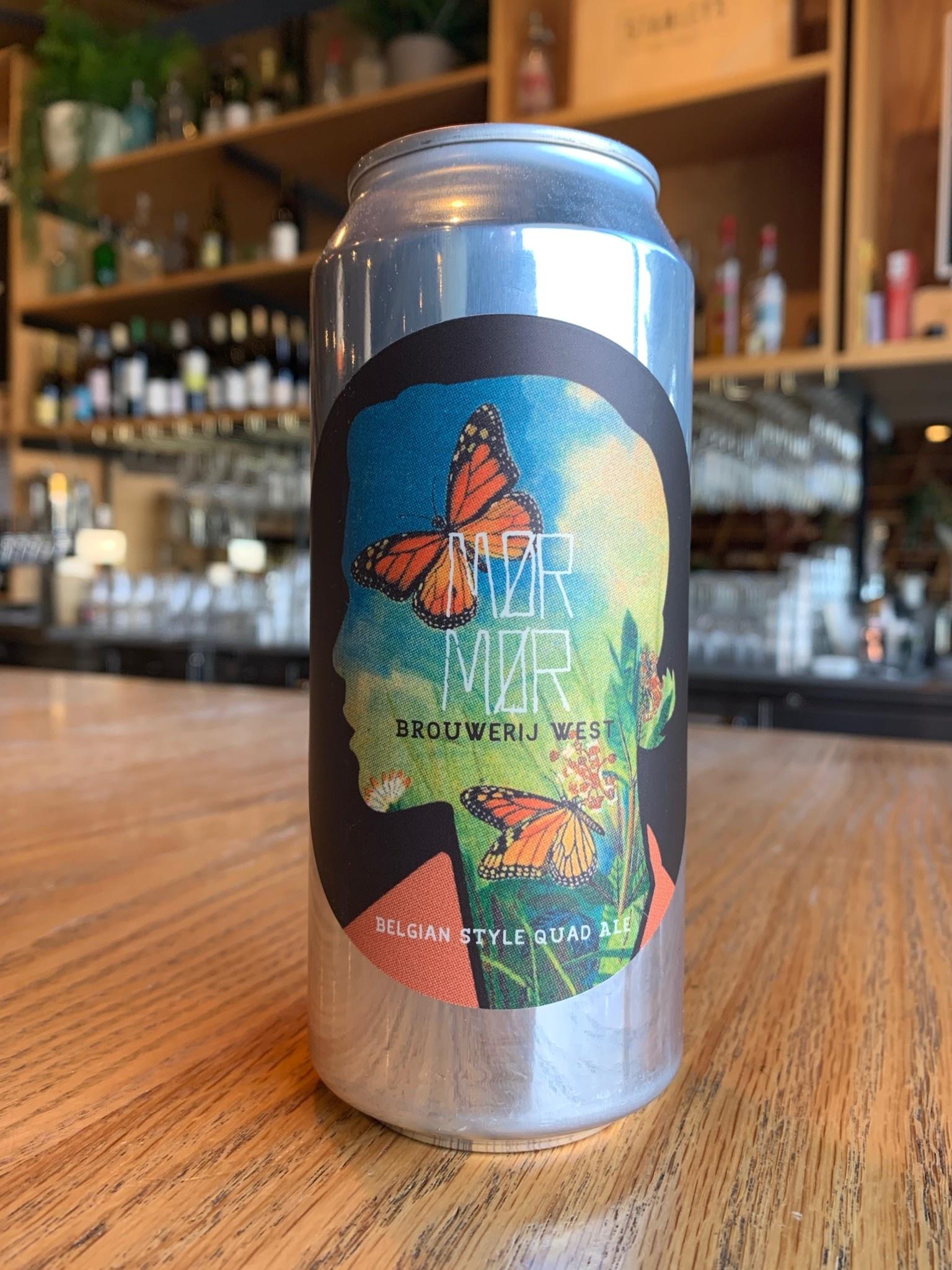 Brouwerij West Brouwerij West Mor Mor Belgian Quad 16oz