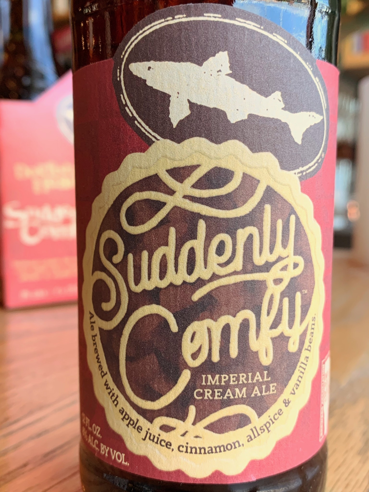 Dogfish Head Brewing Dogfish Head Suddenly Comfy Imperial Cream Ale 12oz 4pk