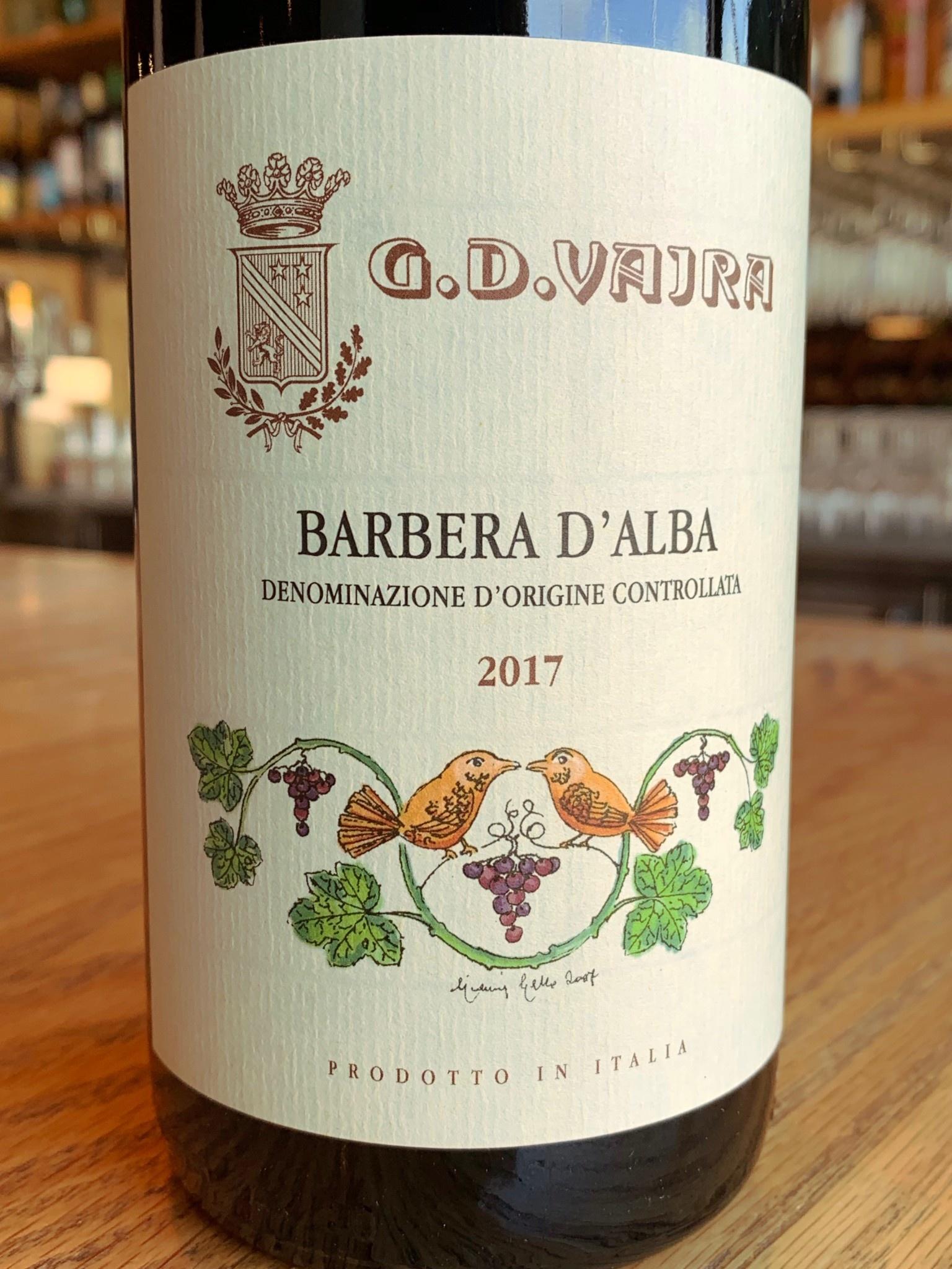 G.D. Vajra 2017 G.D. Vajra Barbera D'Alba 750ml