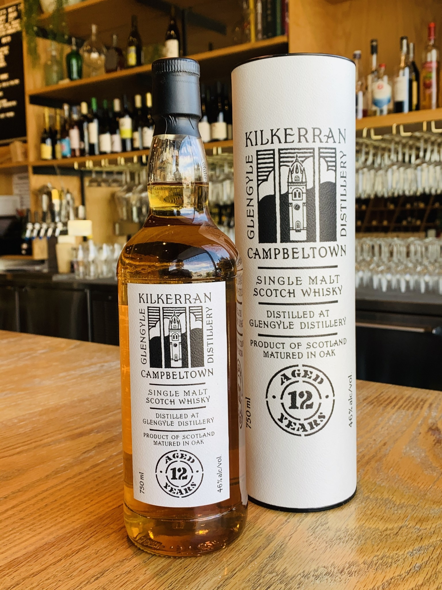 Glengyle Distillery Glengyle Distillery Kilkerran Campbeltown Single Malt Scotch 12yr 750ml