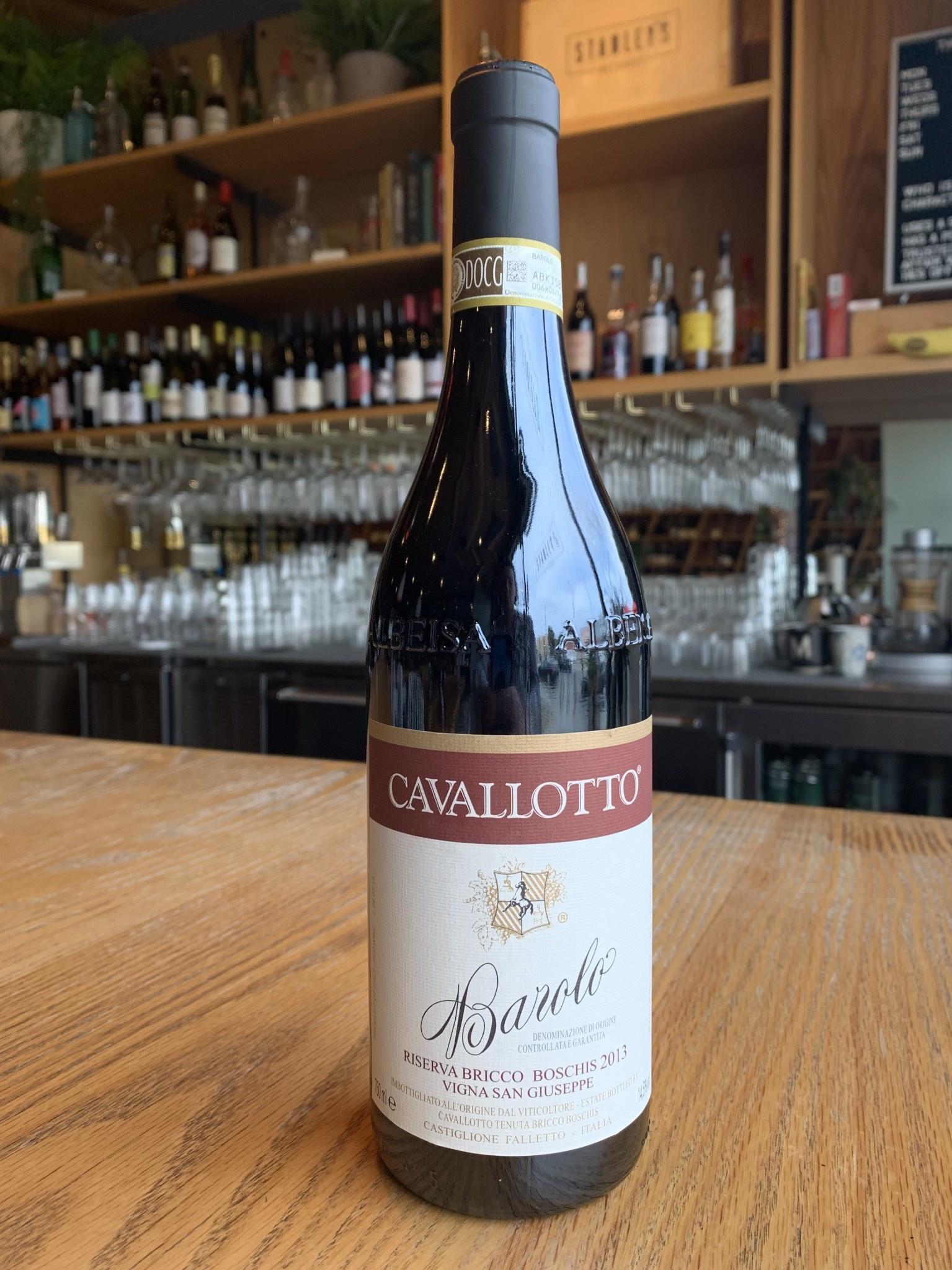 Cavallotto 2013 Cavallotto Barolo Riserva San Giuseppe 750ml