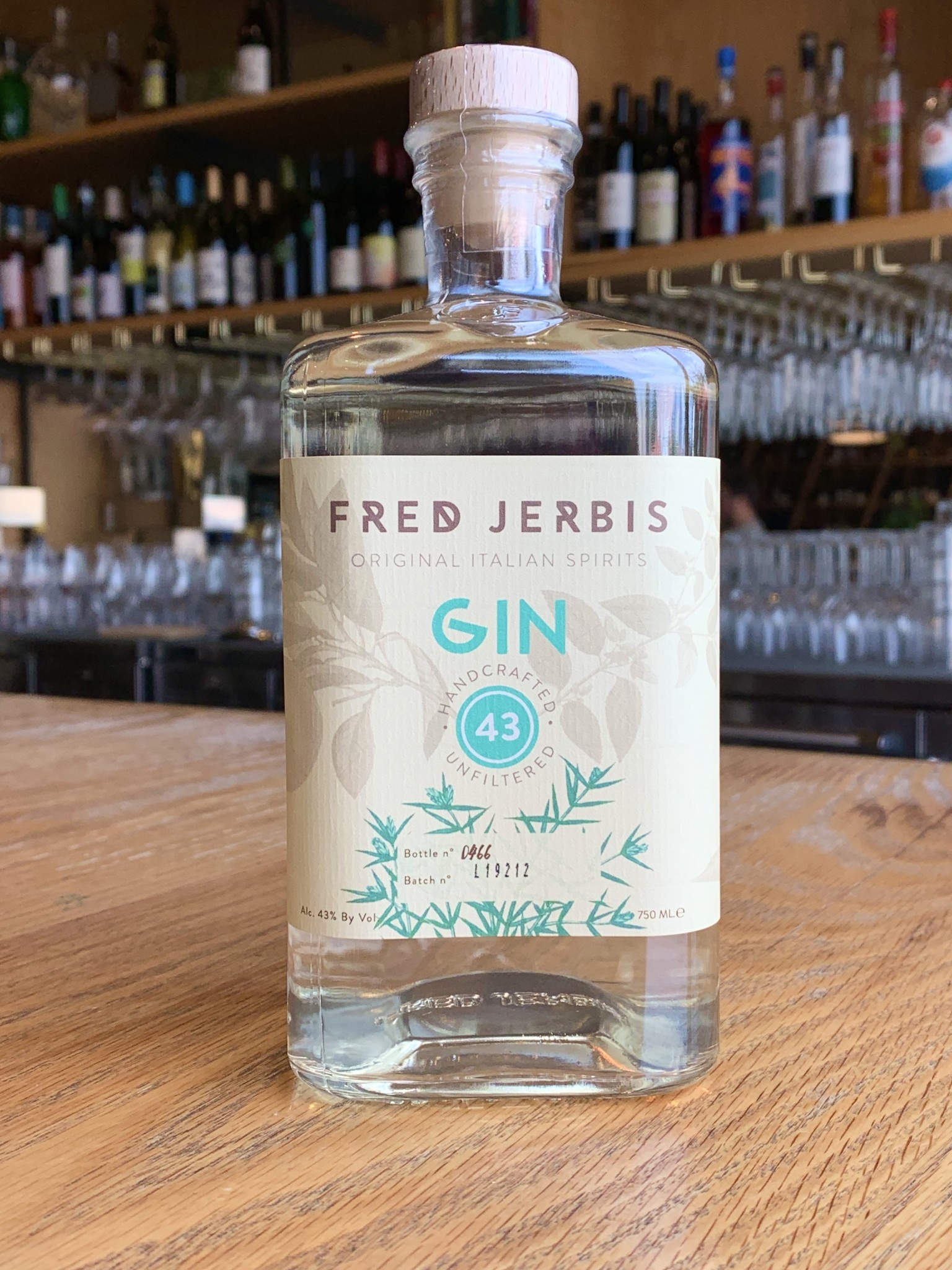 Fred Jerbis Fred Jerbis Gin 750ml