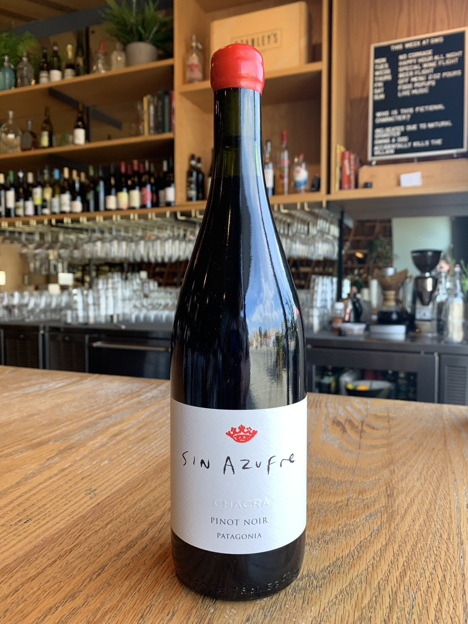 Bodega Chacra 2018 Bodega Chacra Pinot Noir Sin Azufre 750ml
