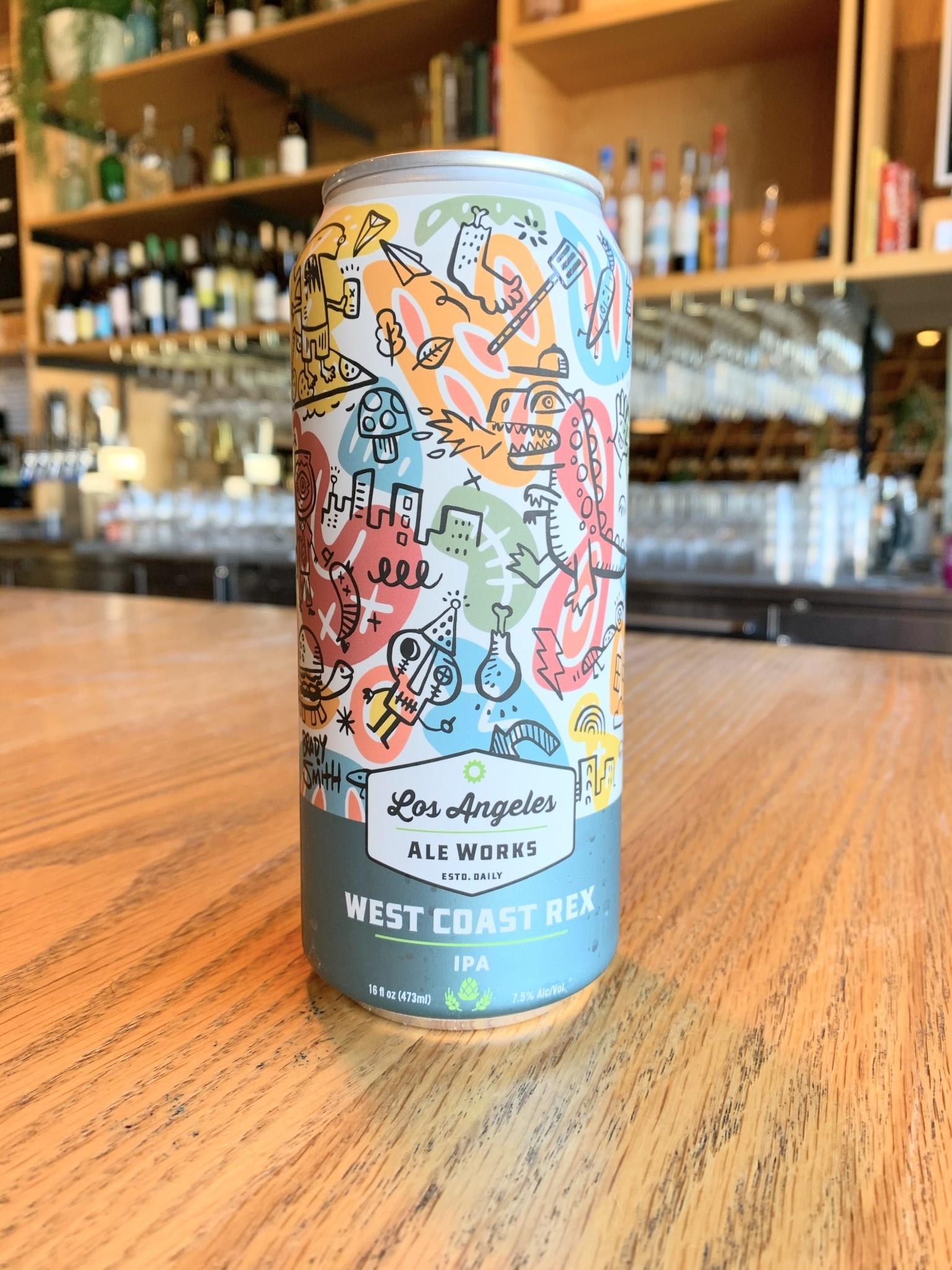 Los Angeles Ale Works Los Angeles Aleworks West Coast Rex IPA 16oz