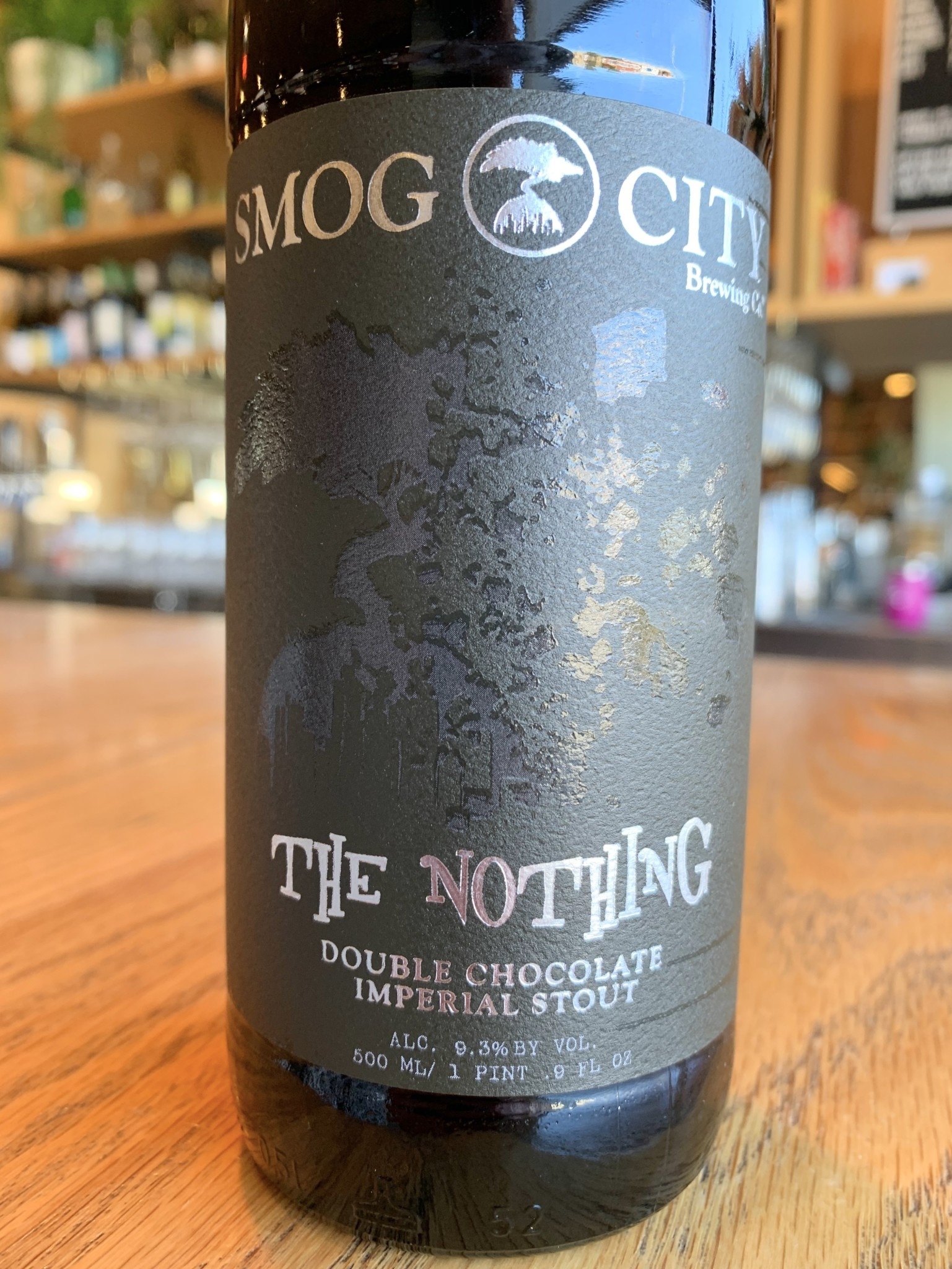 Smog City Brewing Co. Smog City The Nothing Double Chocolate Imperial Stout 500mL